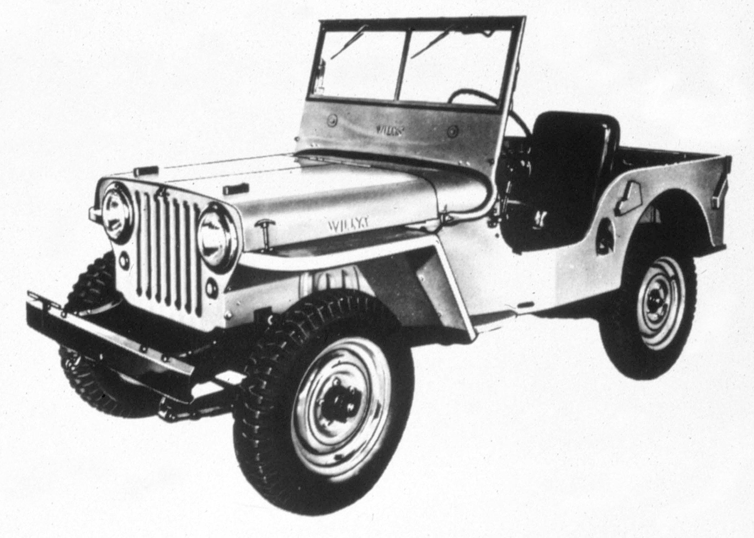 Jeep CJ-2A photo #2