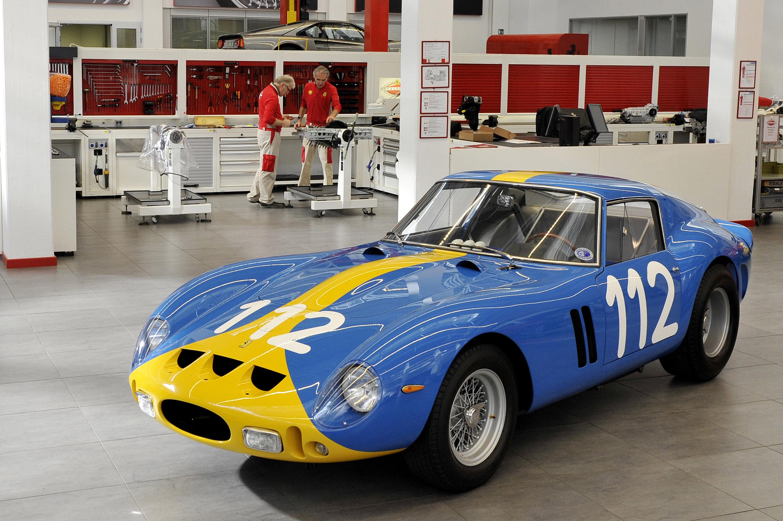 Ferrari 250 GTO Blue photo #1