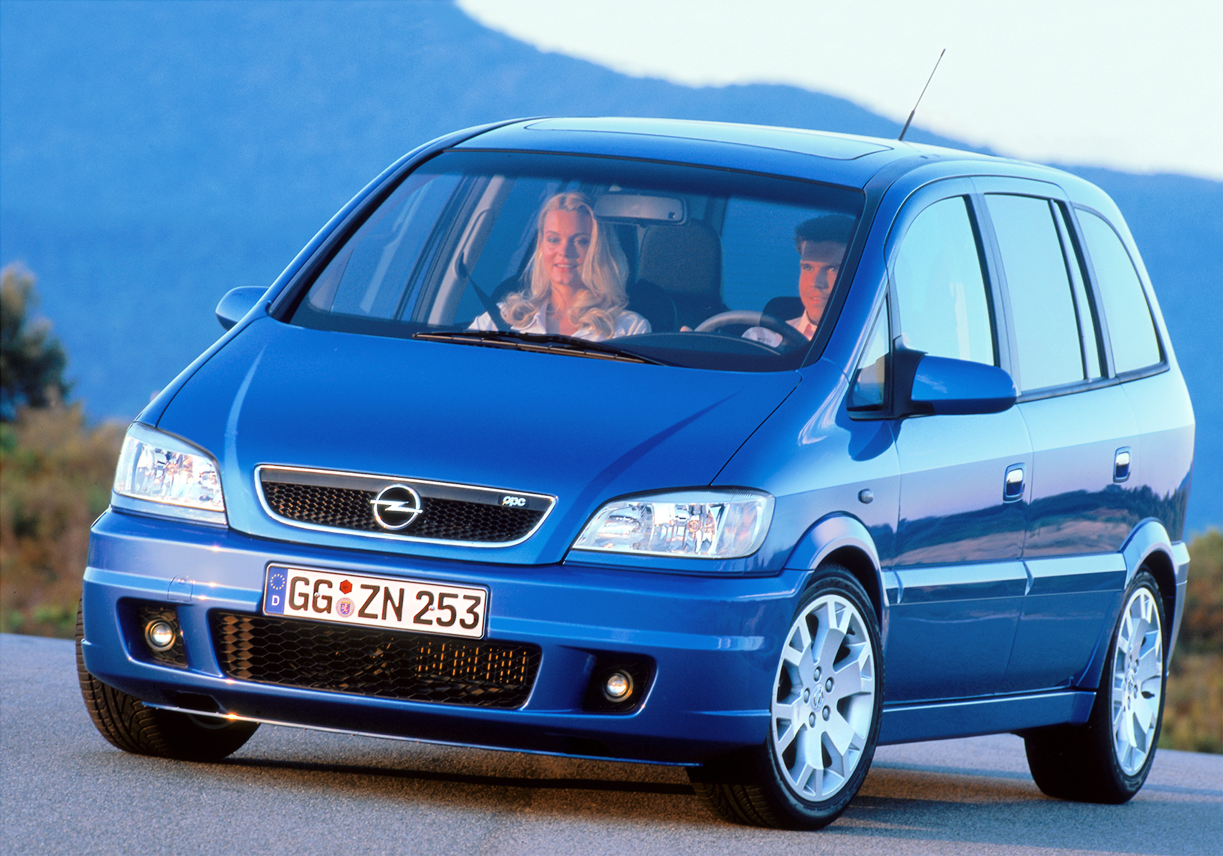 2001 opel zafira opc hd pictures. Black Bedroom Furniture Sets. Home Design Ideas