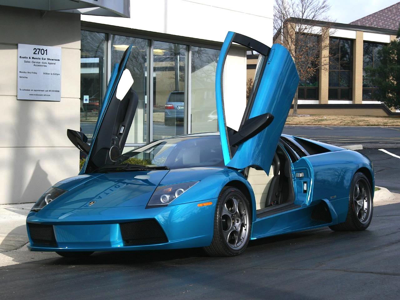 2003 Lamborghini Murcielago 40th Anniversary Edition Hd Pictures