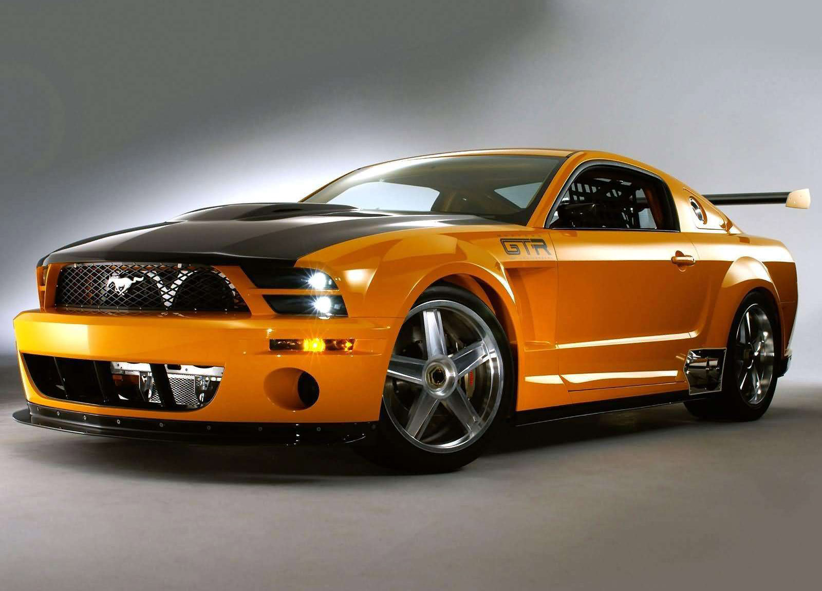 Ford Mustang GTR 40th Anniversary Concept photo #1