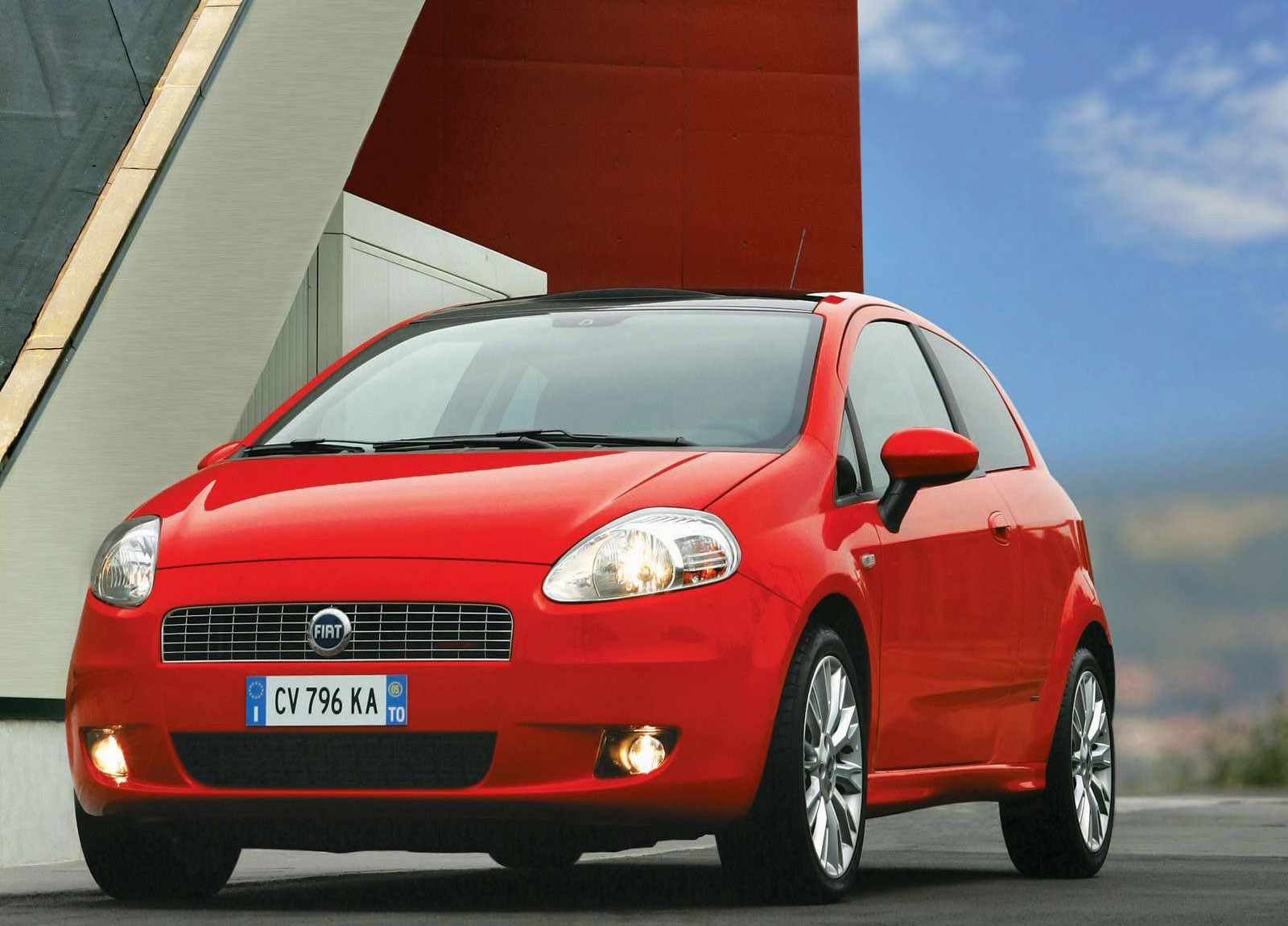 2005 fiat grande punto hd pictures. Black Bedroom Furniture Sets. Home Design Ideas