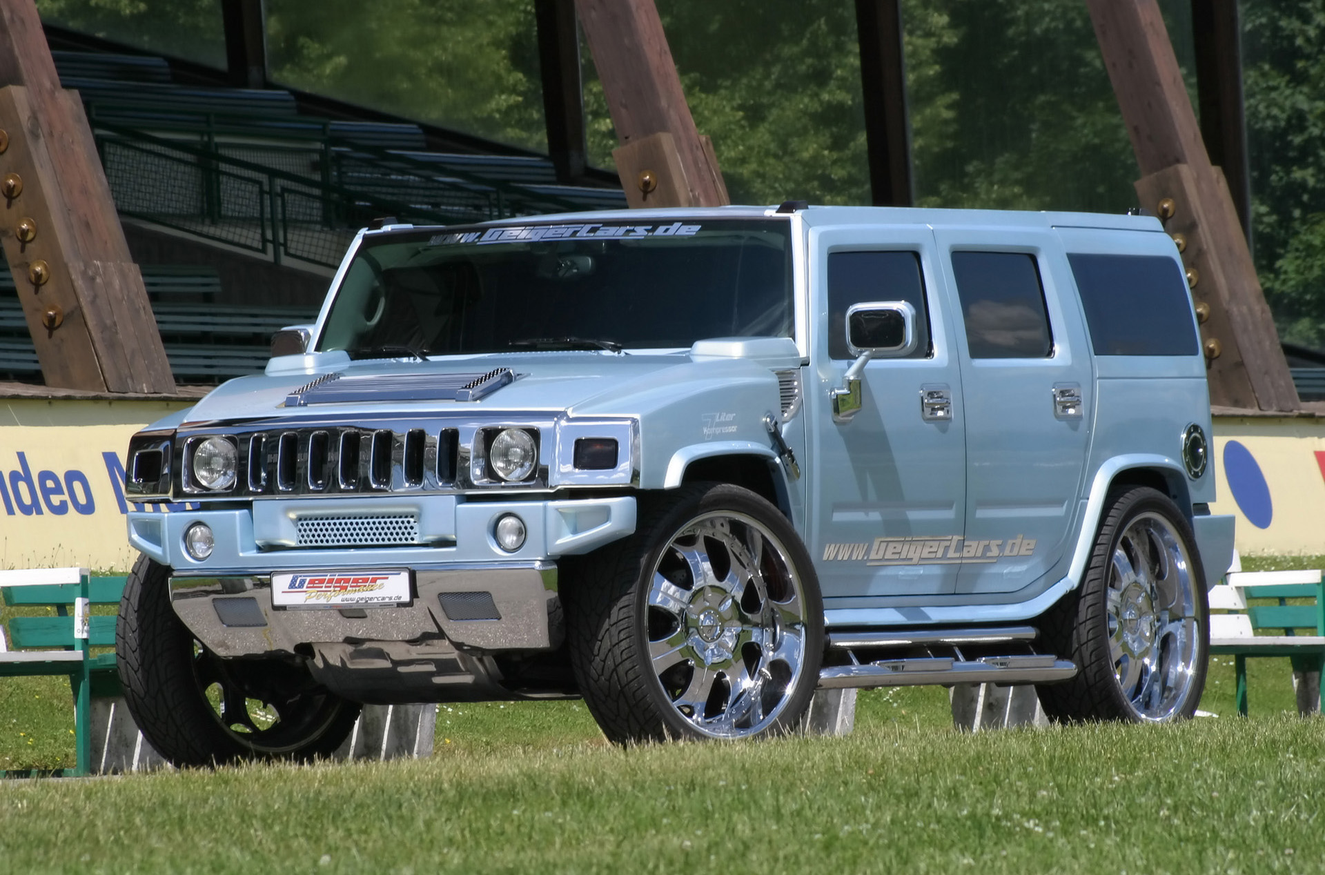 GeigerCars Hummer H2 Kompressor photo #1
