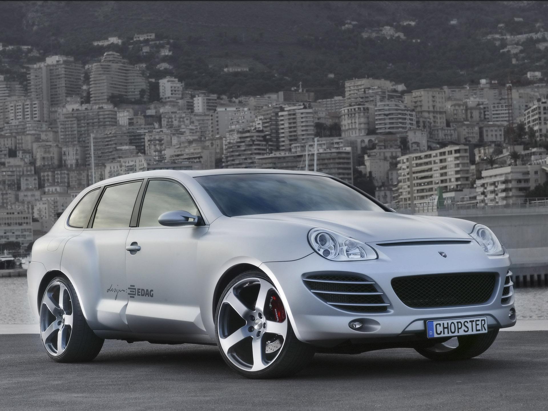 Rinspeed EDAG Porsche Cayenne Chopster photo #1