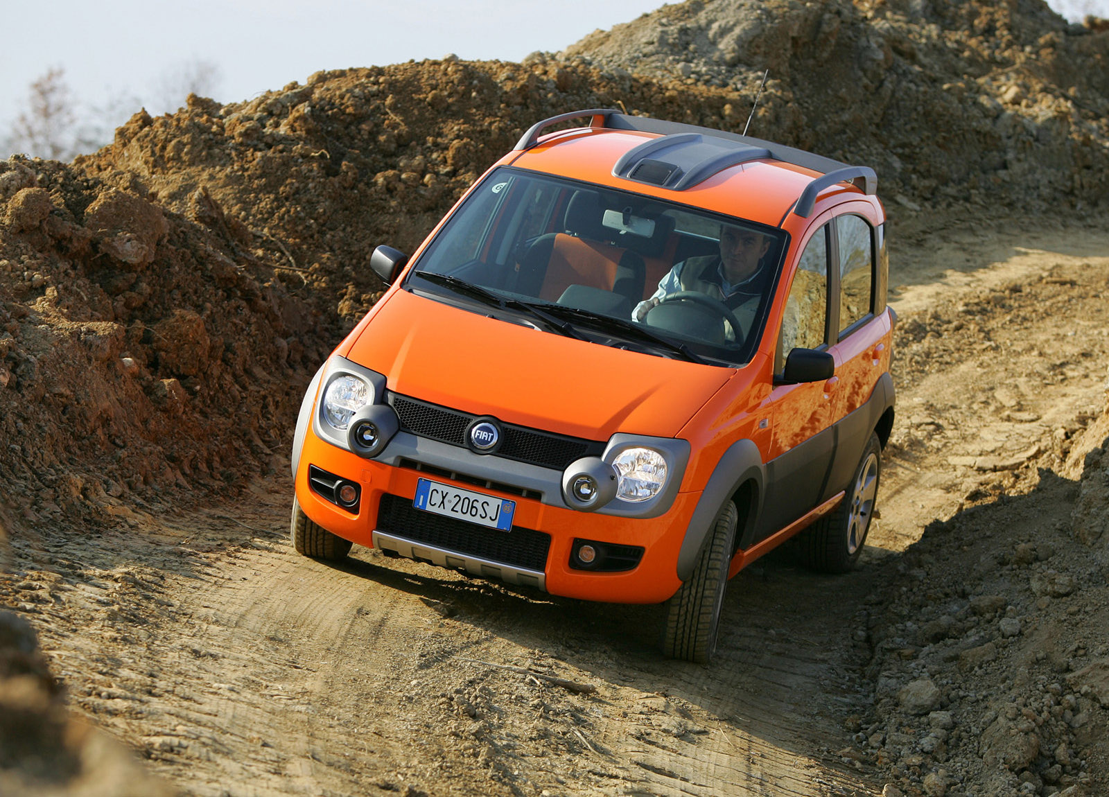 2006 fiat panda cross hd pictures. Black Bedroom Furniture Sets. Home Design Ideas