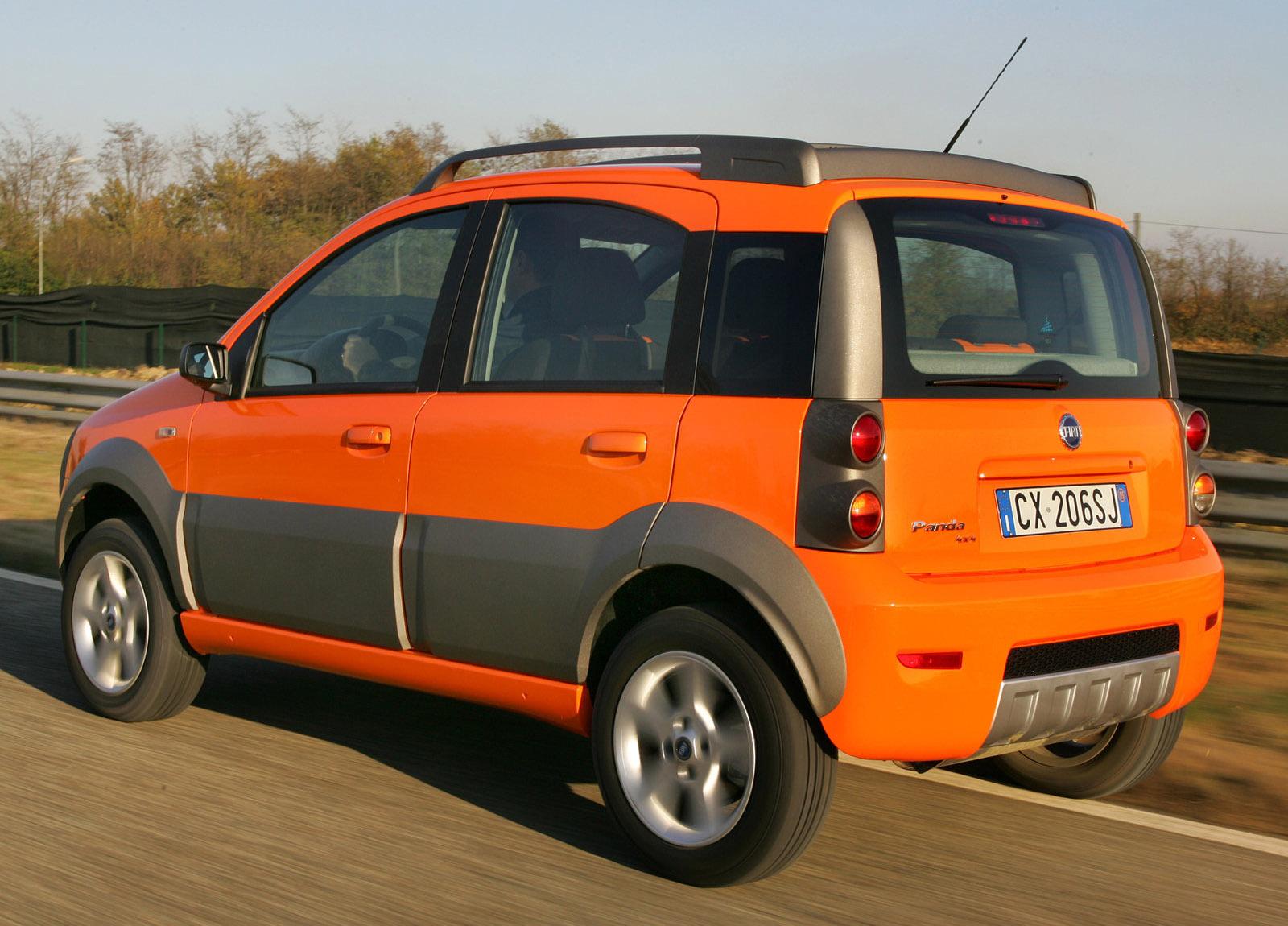 2006 Fiat Panda Cross Hd Pictures Carsinvasion Com