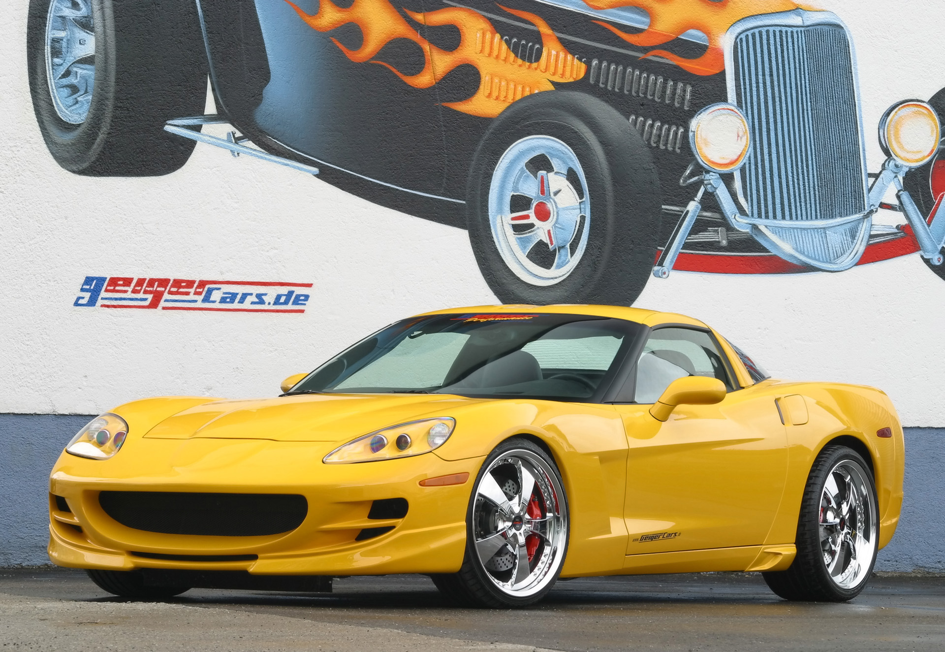 GeigerCars Corvette C6 Custom Designer Suit photo #1