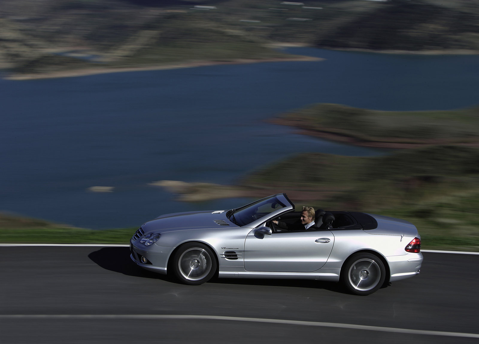2006 mercedes benz sl55 amg hd pictures for Mercedes benz sl55 amg