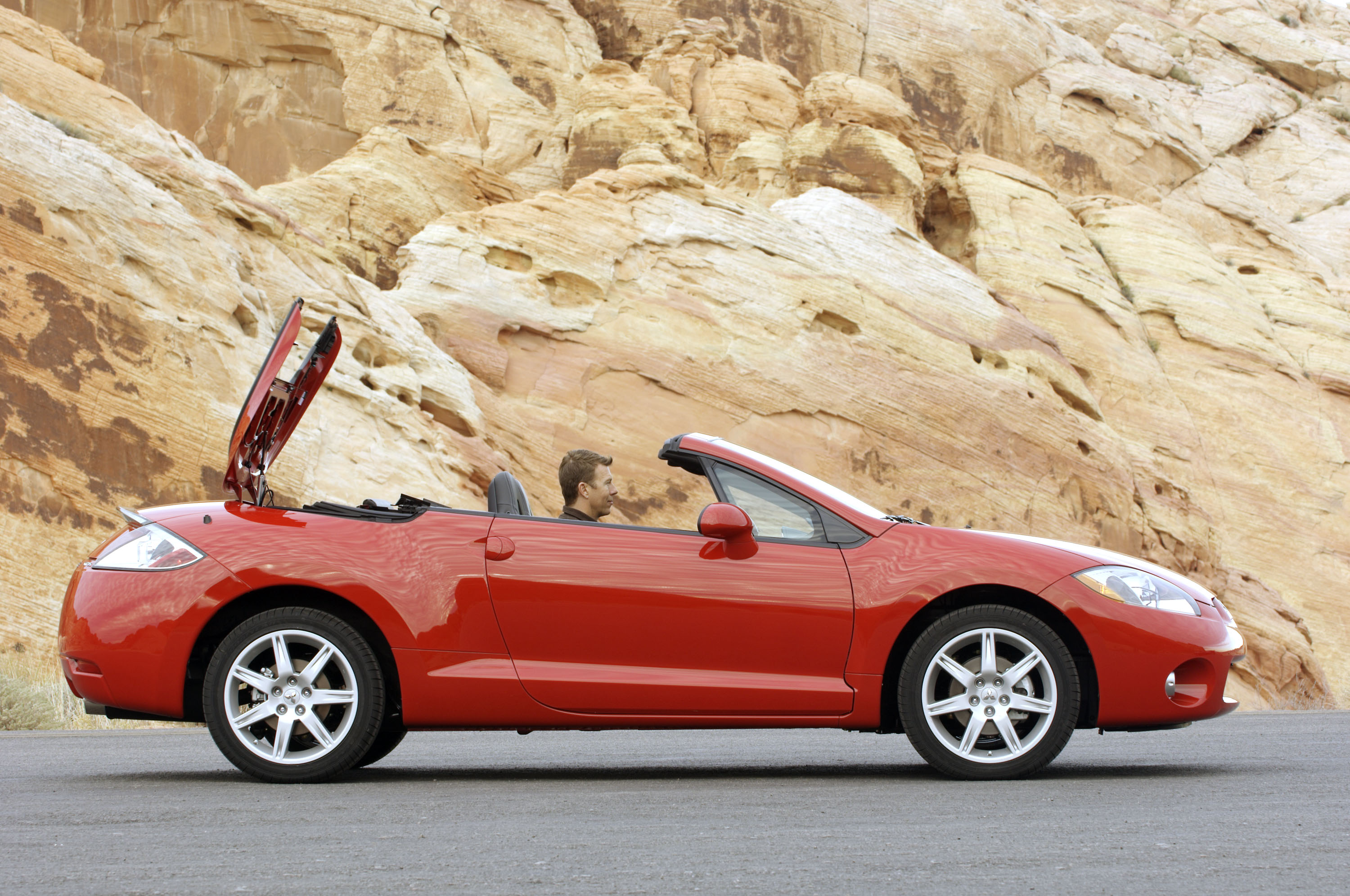 2007 mitsubishi eclipse spyder hd pictures. Black Bedroom Furniture Sets. Home Design Ideas