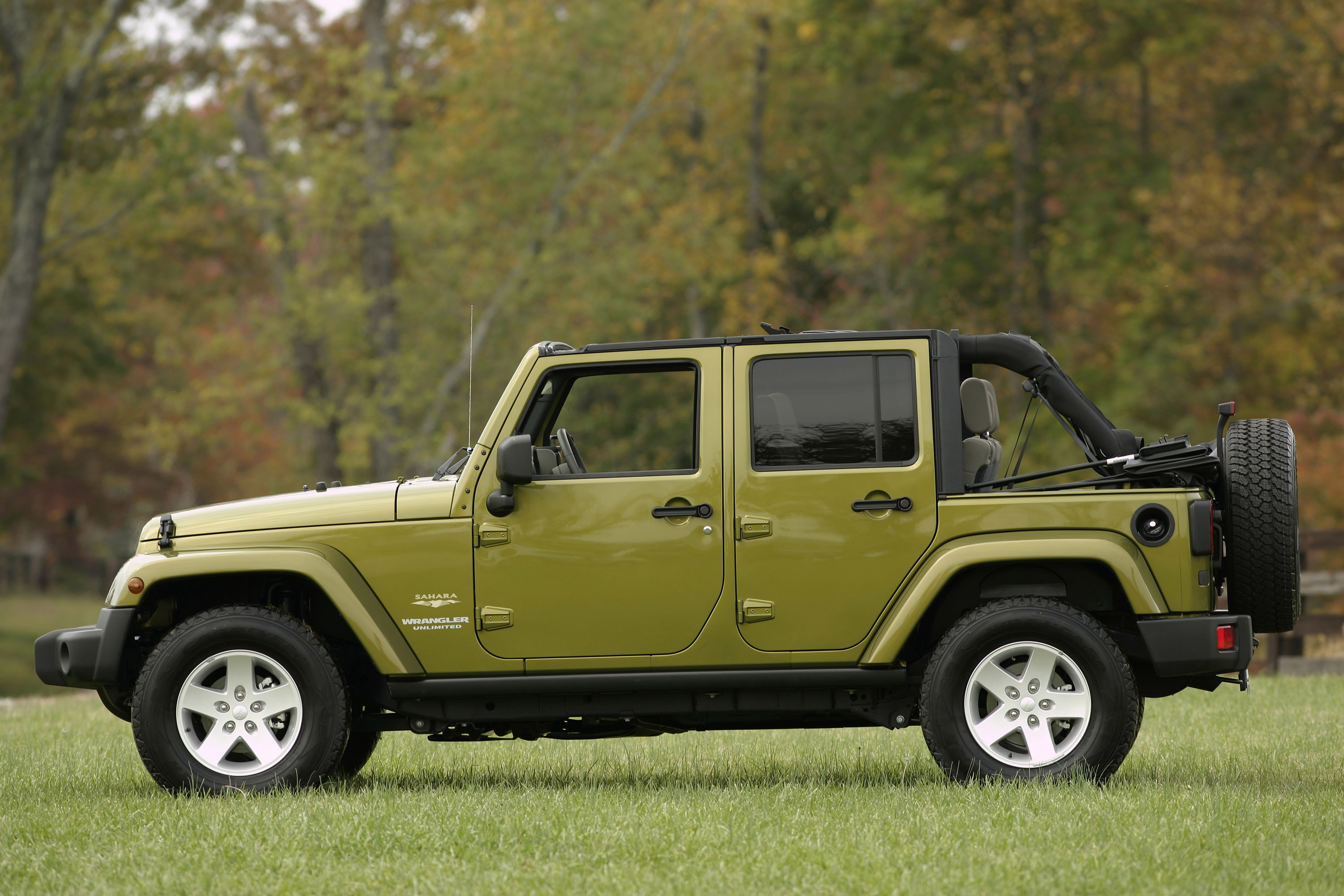 2007 Jeep Wrangler Unlimited Hd Pictures Carsinvasion Com