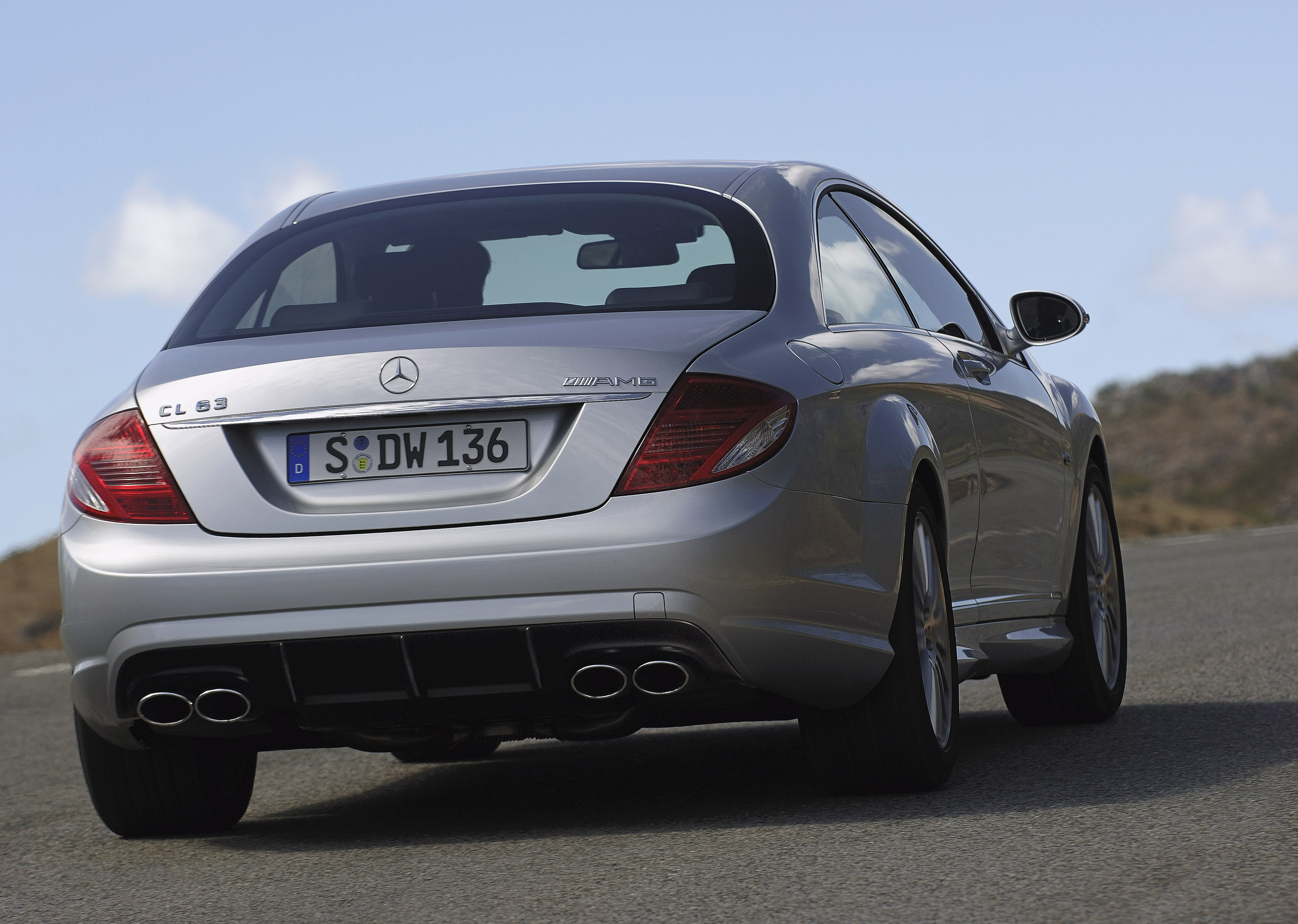 2007 Mercedes Benz Cl63 Amg Hd Pictures Thumbnail Photo 39605