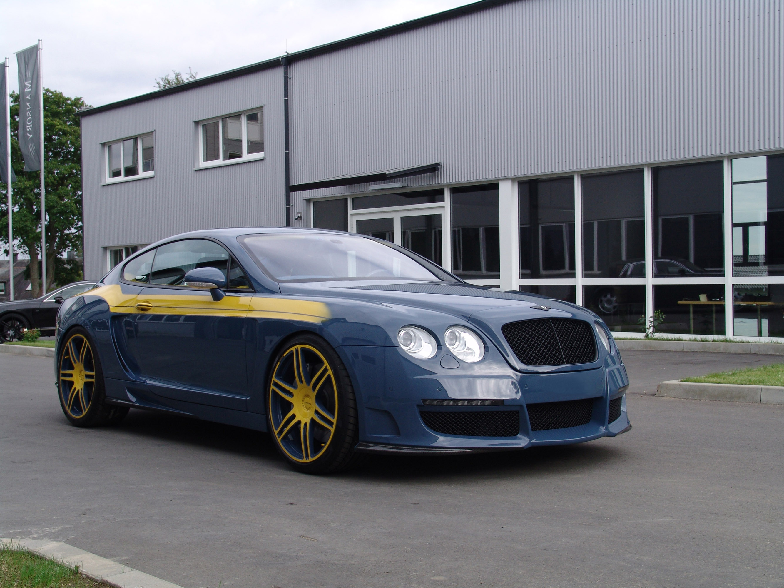 2008 Le Mansory Bentley Continental Gt Hd Pictures