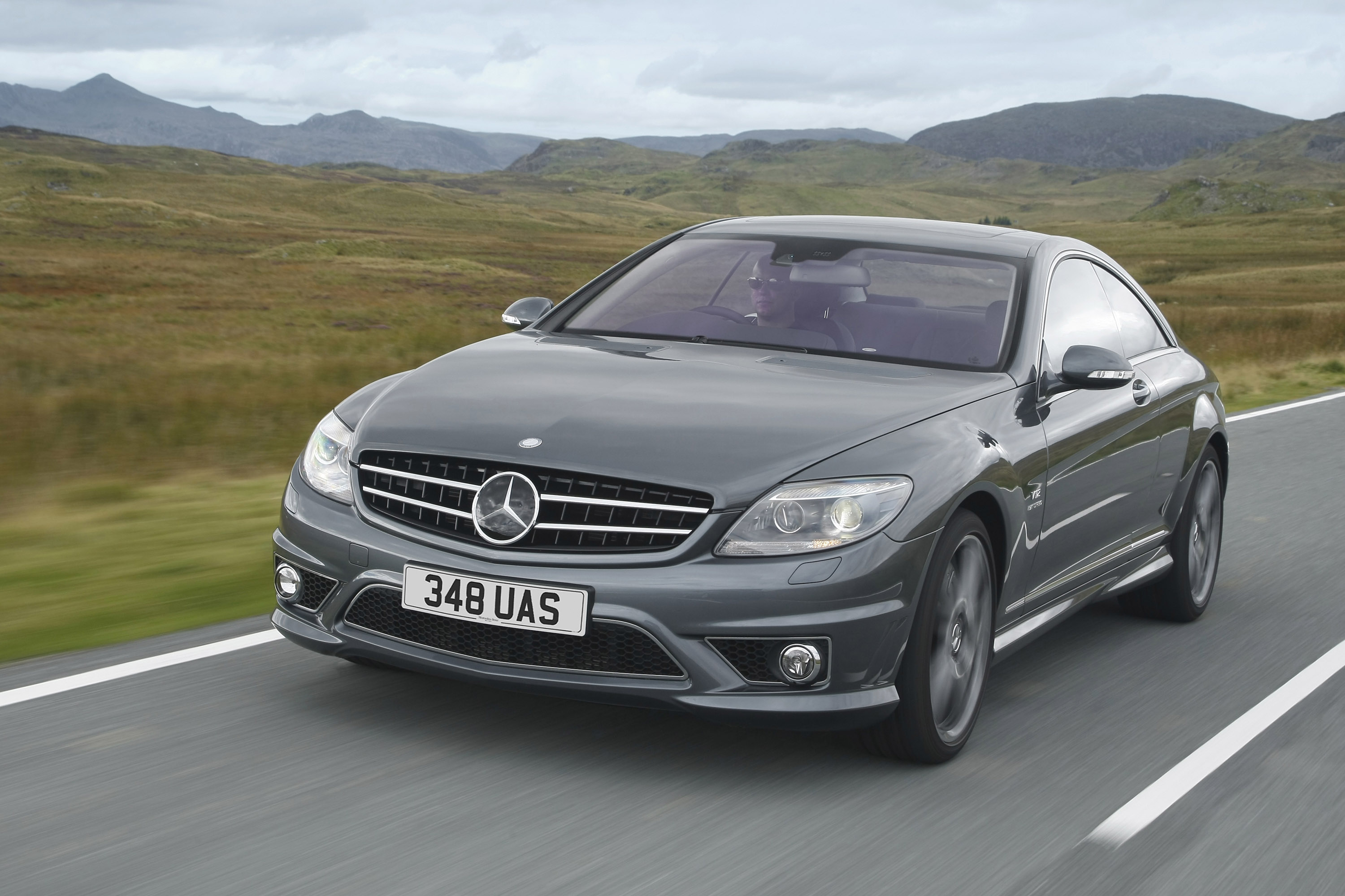2008 Mercedes Benz Cl65 Amg Uk Version Hd Pictures