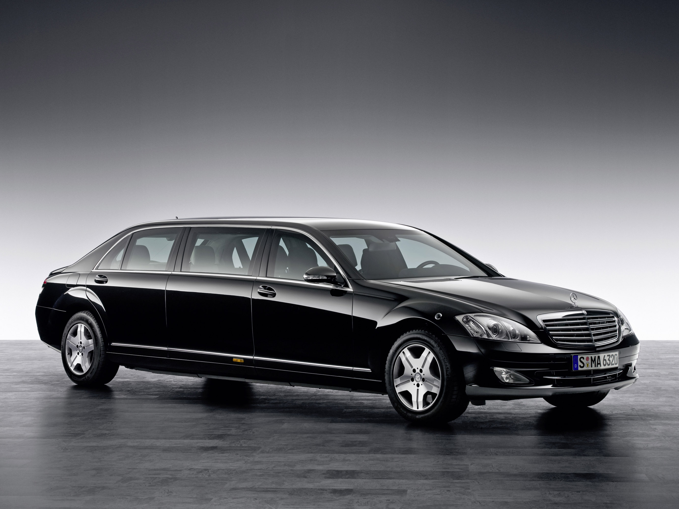 Mercedes-Benz S 600 Guard Pullman photo #1