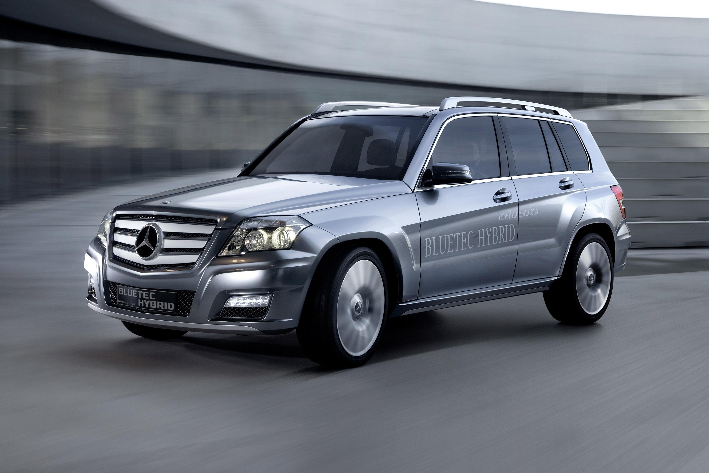 Mercedes-Benz Vision GLK Bluetec Hybrid Concept photo #1