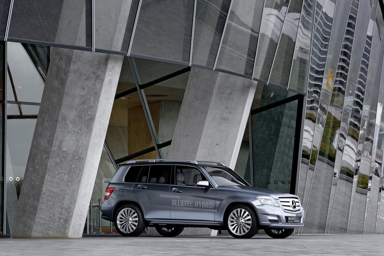 Mercedes-Benz Vision GLK Bluetec Hybrid Concept photo #3