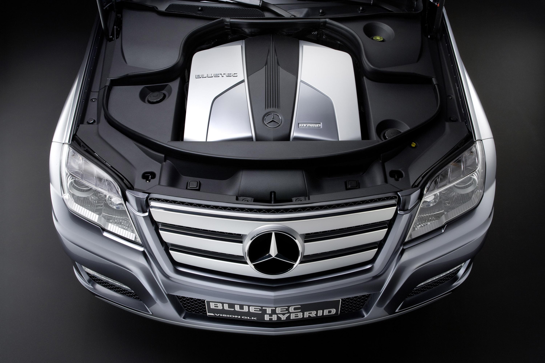 Mercedes-Benz Vision GLK Bluetec Hybrid Concept photo #8
