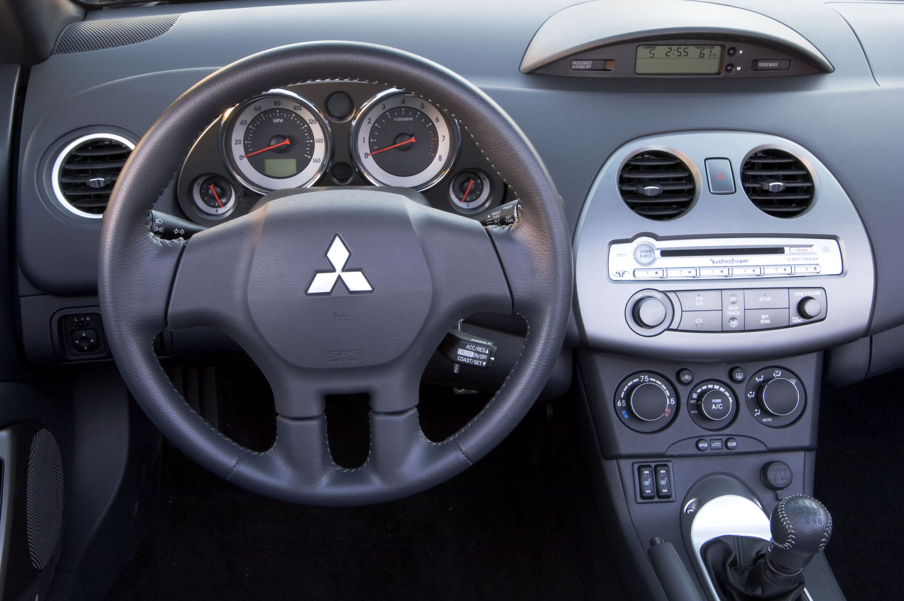 2008 Mitsubishi Eclipse Spyder Hd Pictures Gt Interior Thumbnail Photo 30683