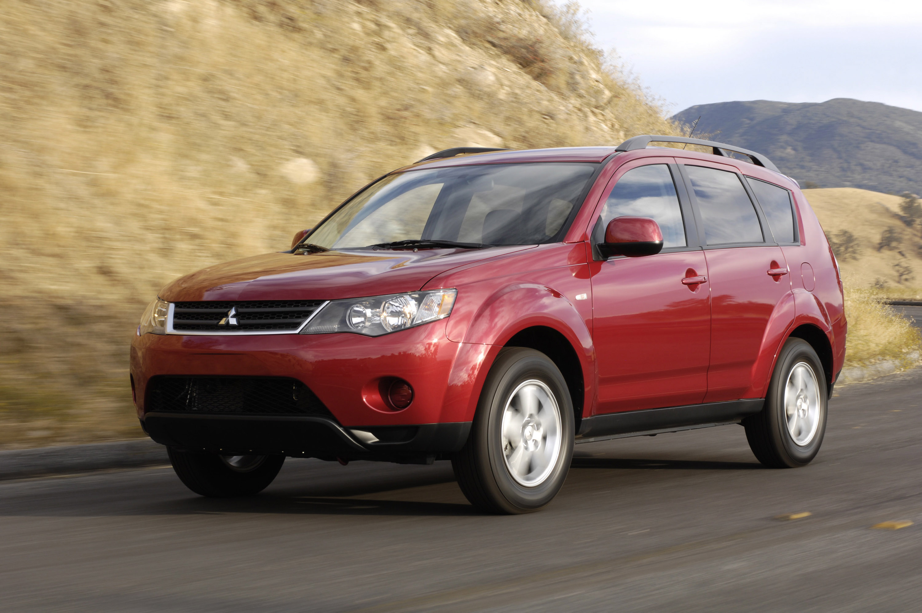 2008 mitsubishi outlander hd pictures. Black Bedroom Furniture Sets. Home Design Ideas