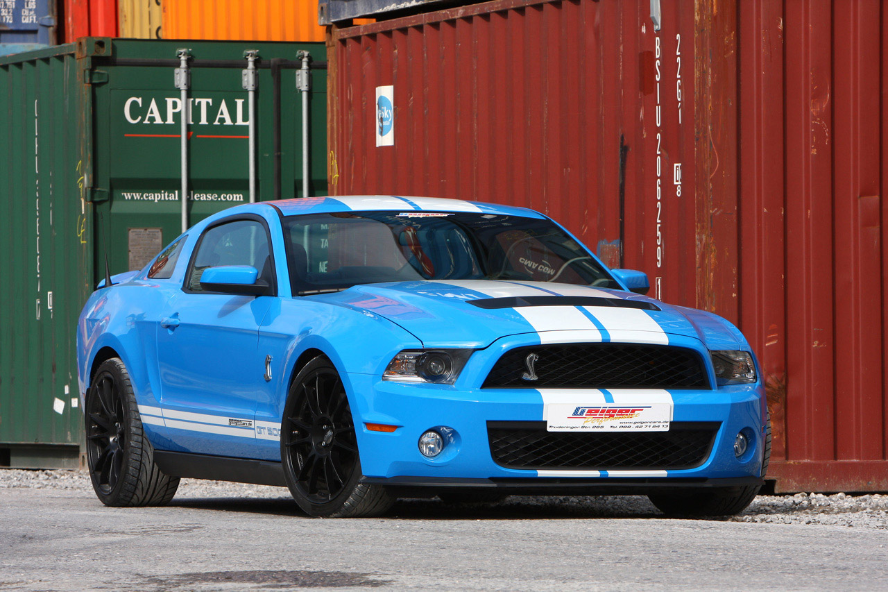 GeigerCars Ford Mustang Shelby GT photo #1