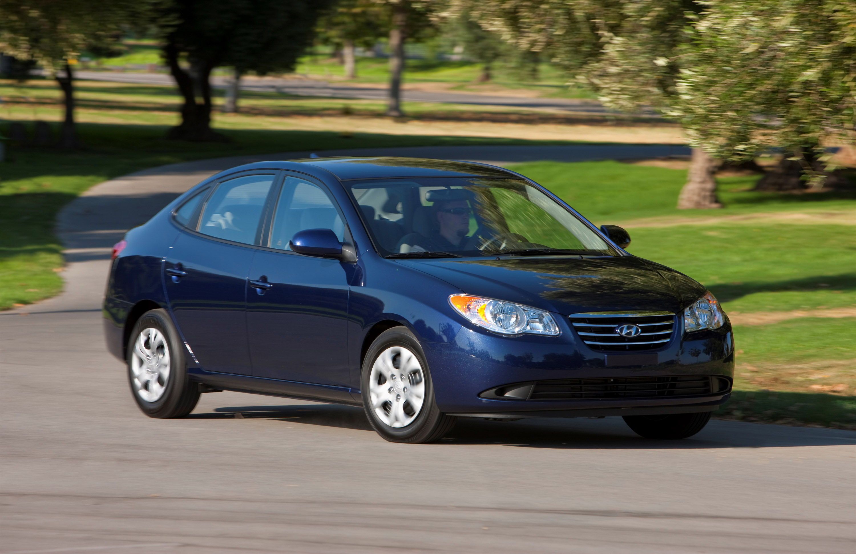 Hyundai Elantra Blue photo #1