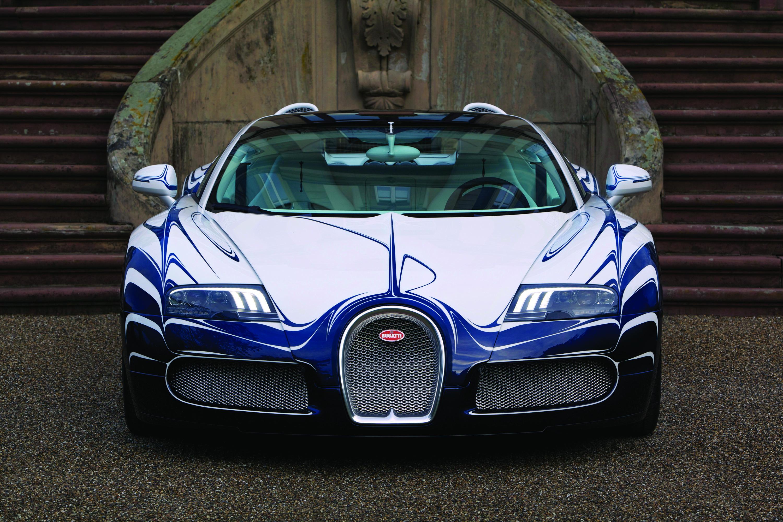 Bugatti Veyron Grand Sport LOr Blanc photo #1