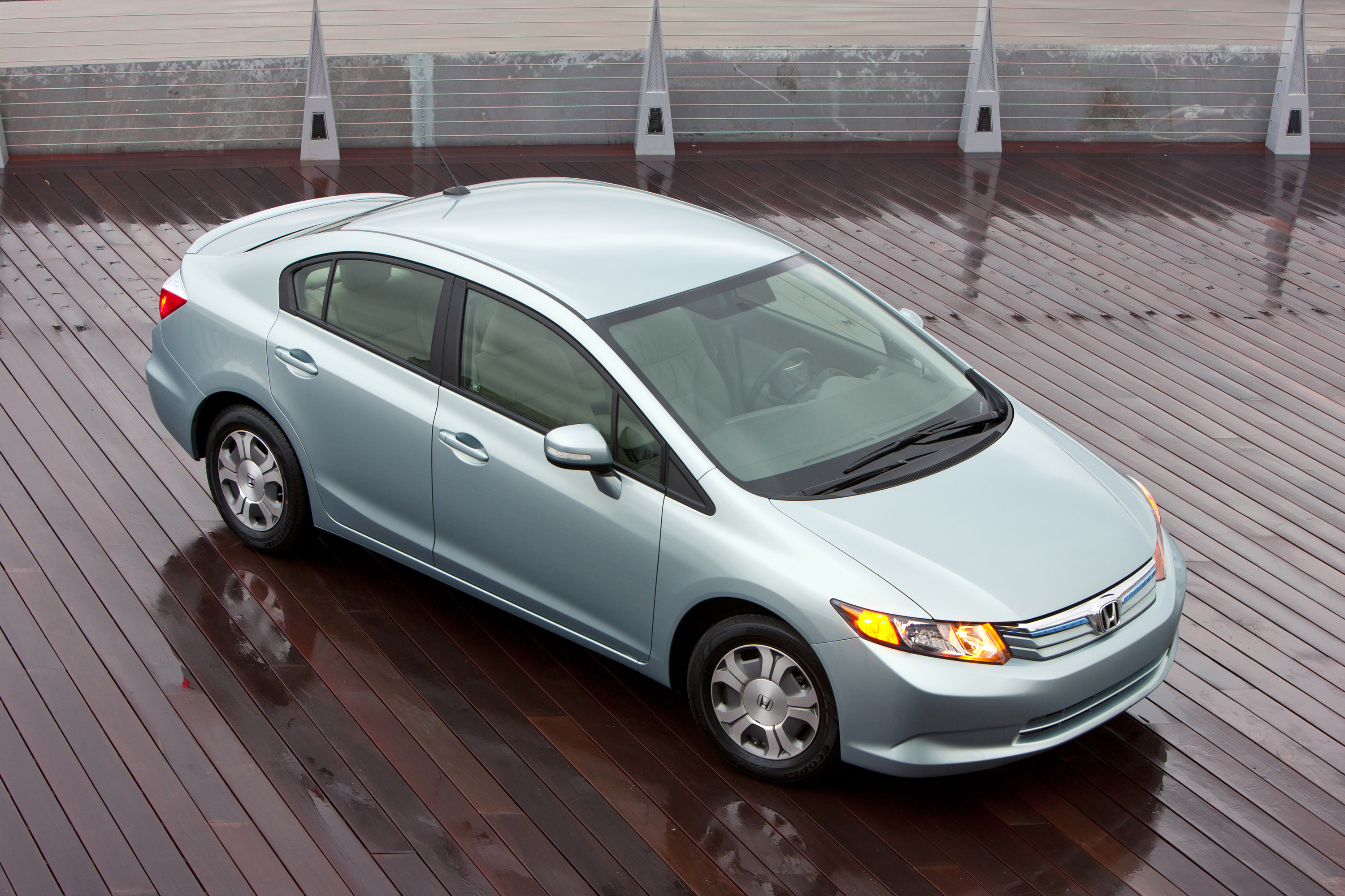 Honda says that the 2012 Civic Hybrid is the most fuelefficient sedan ie not a hatchback on US roads The allnew ninthgeneration 2012 Honda Civic