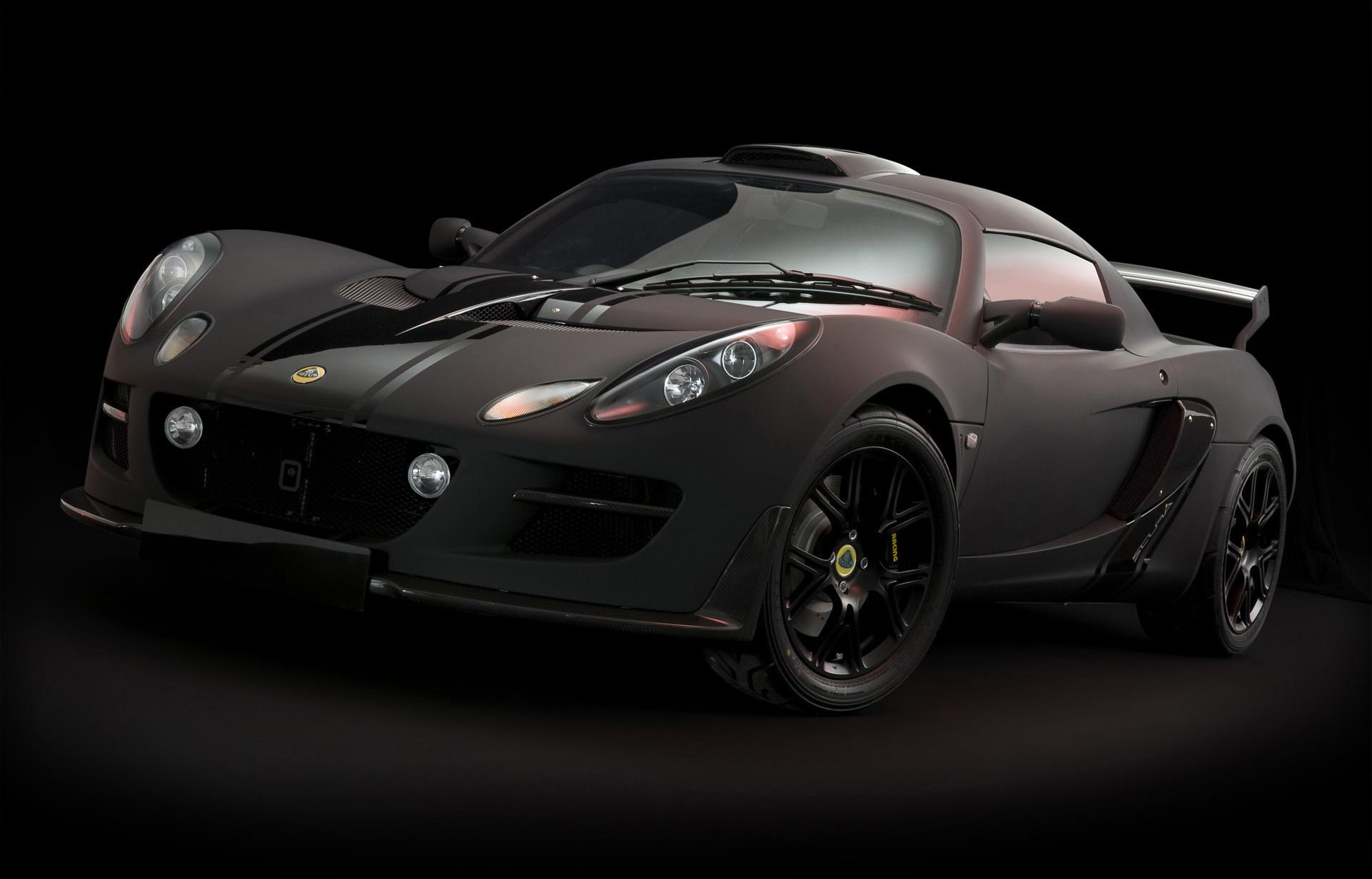 Lotus Exige Matte Black Final Edition photo #1