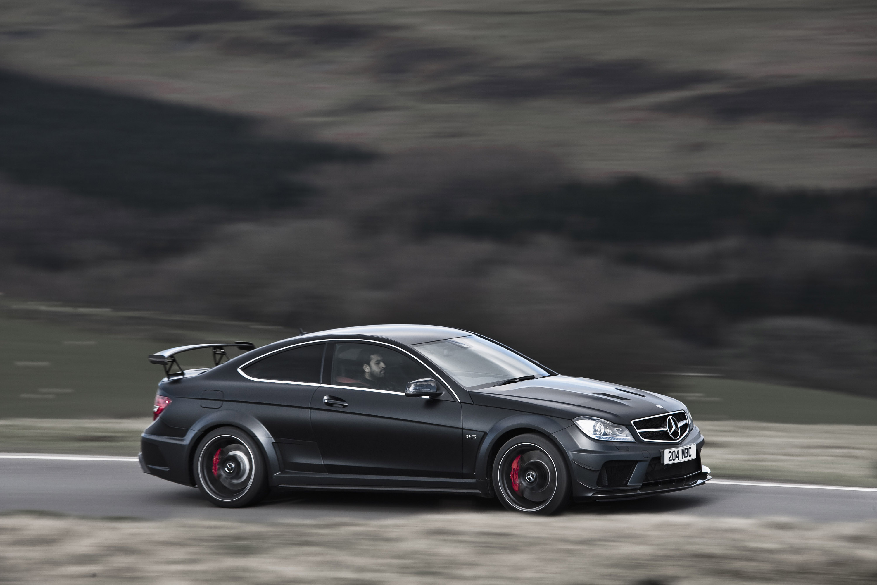 2012 Mercedes Benz C63 Amg Coupe Black Series Hd