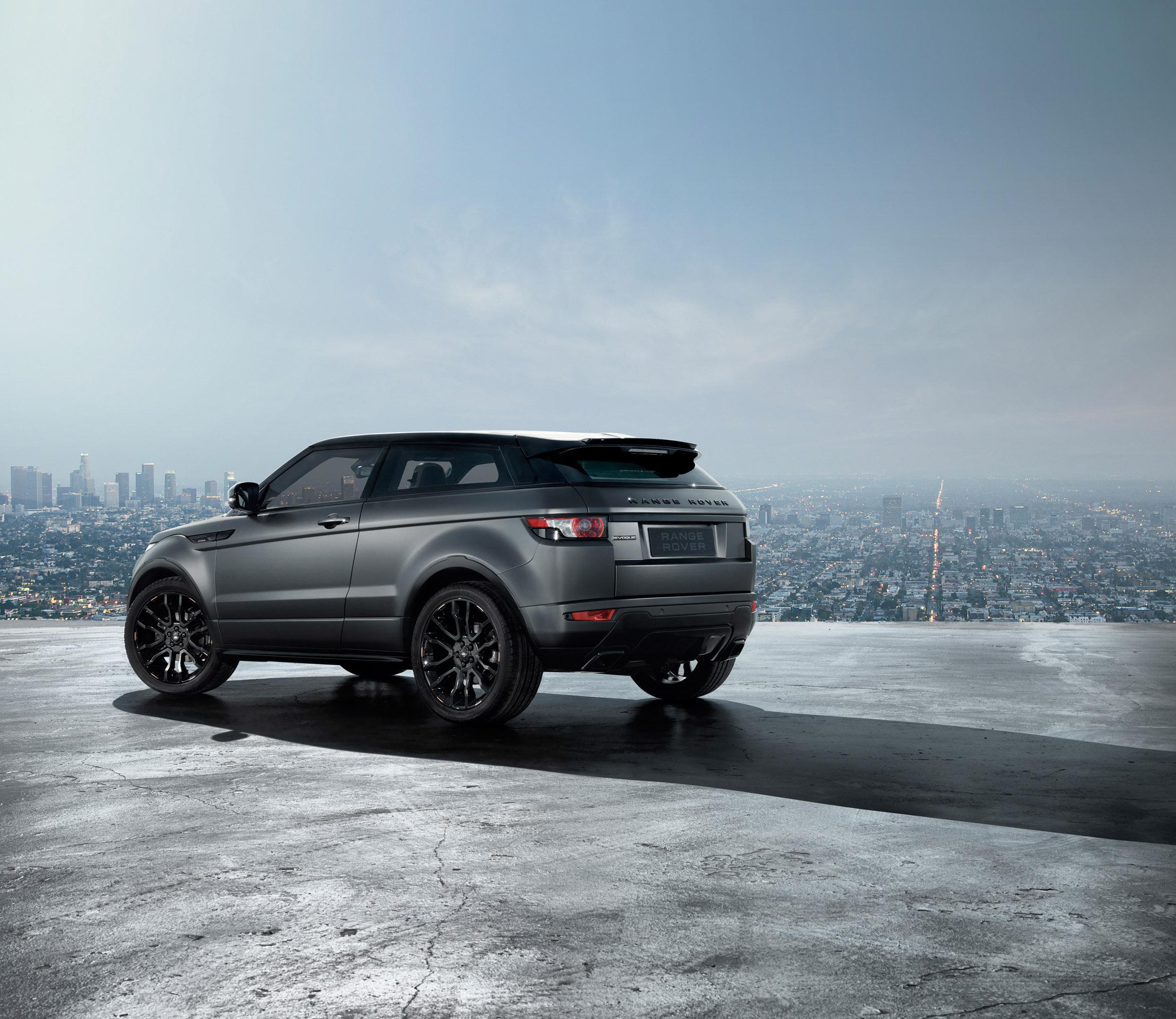 2012 Range Rover Evoque Victoria Beckham Edition