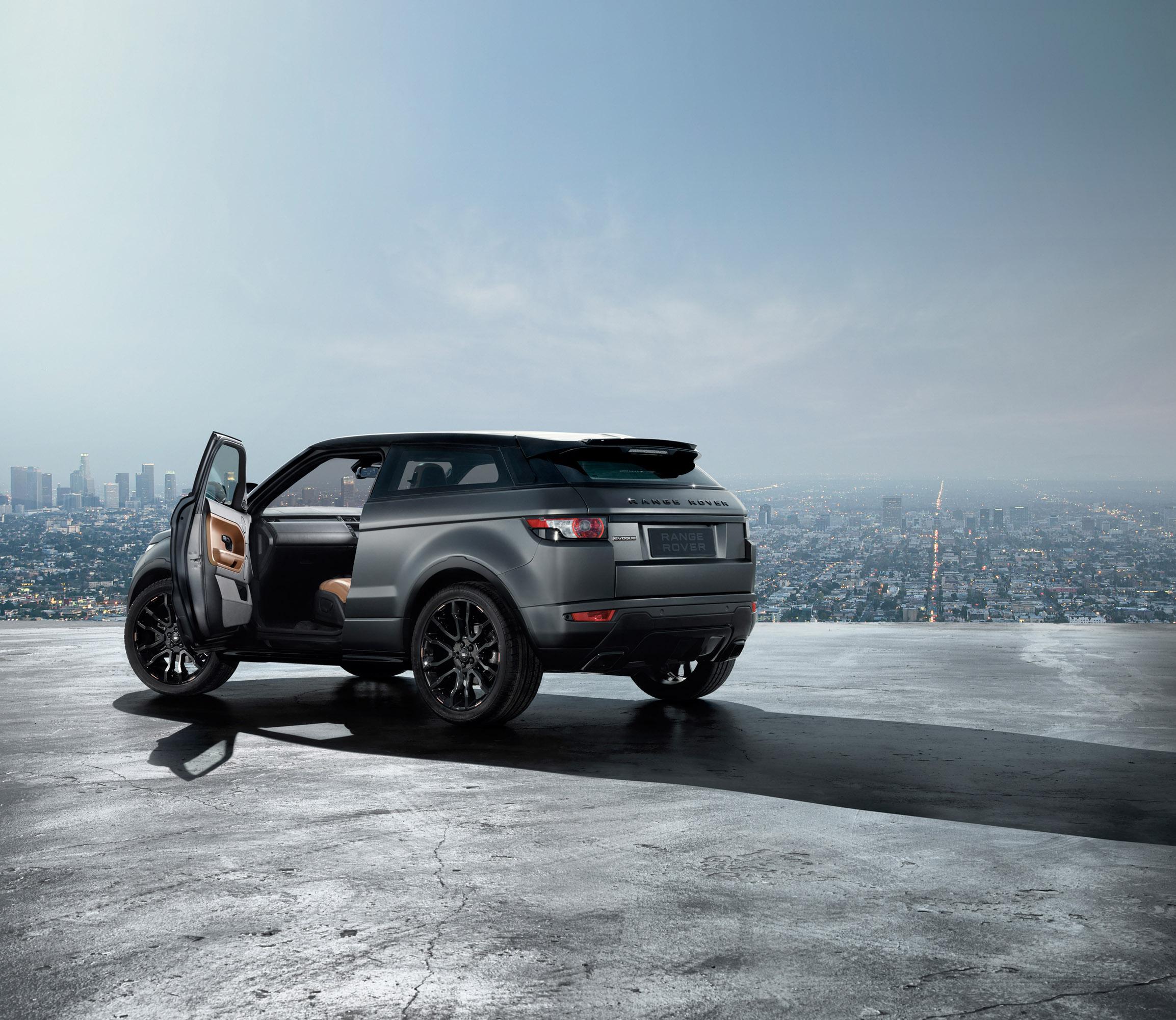Land Rover Range Rover Evoque: 2012 Range Rover Evoque Victoria Beckham Edition