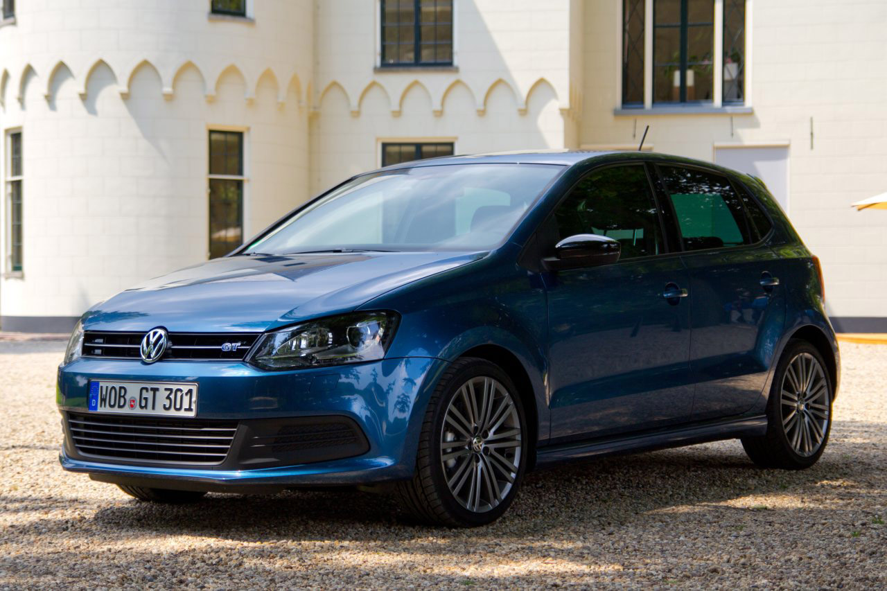 2012 volkswagen polo gt blue hd pictures. Black Bedroom Furniture Sets. Home Design Ideas