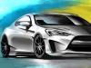 2013 Ark Performance Hyundai Legato Concept Genesis Coupe