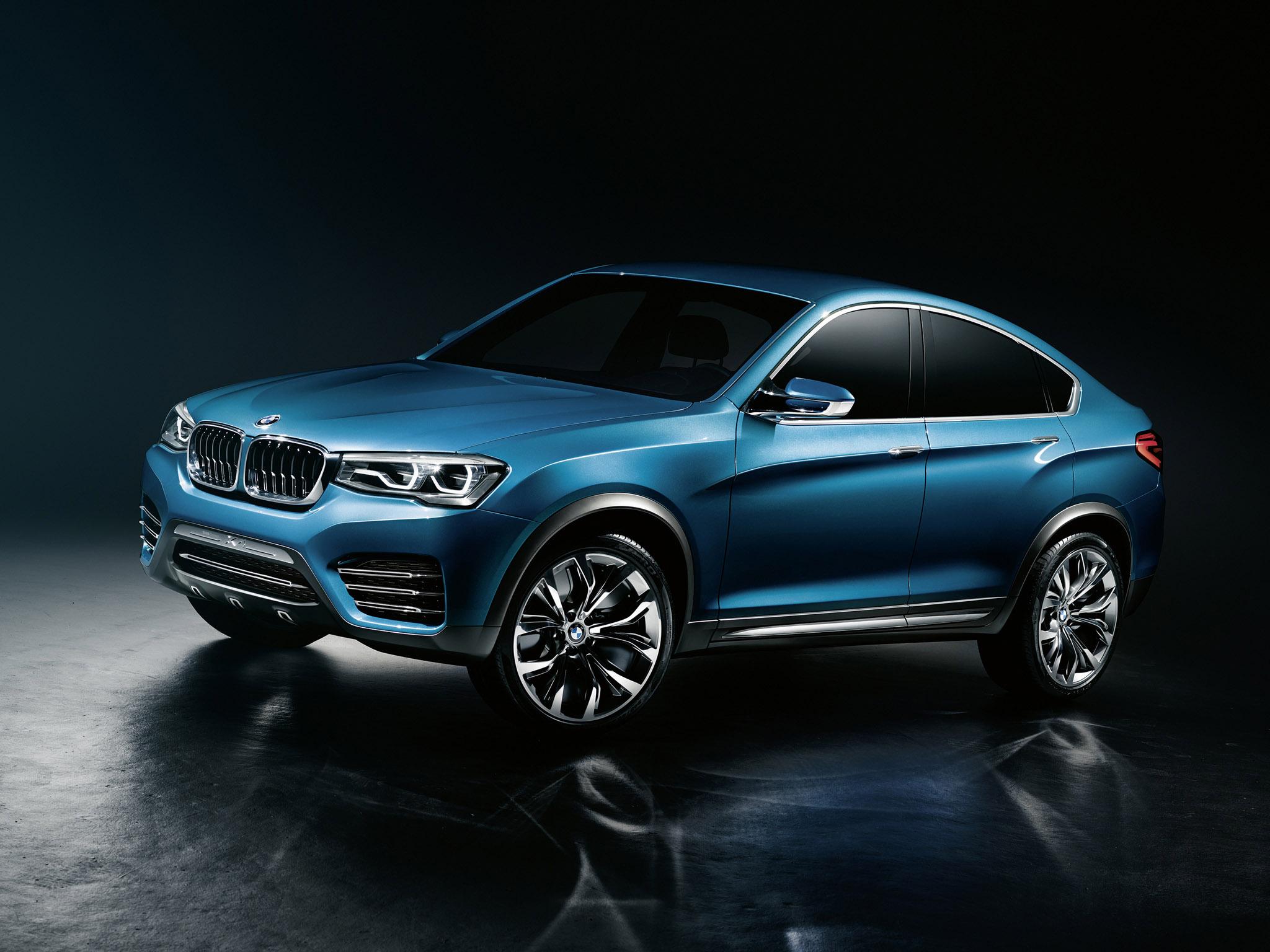 BMW Concept X4 photo #1