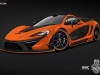 2013 German Special Customs McLaren P1 Night Glow
