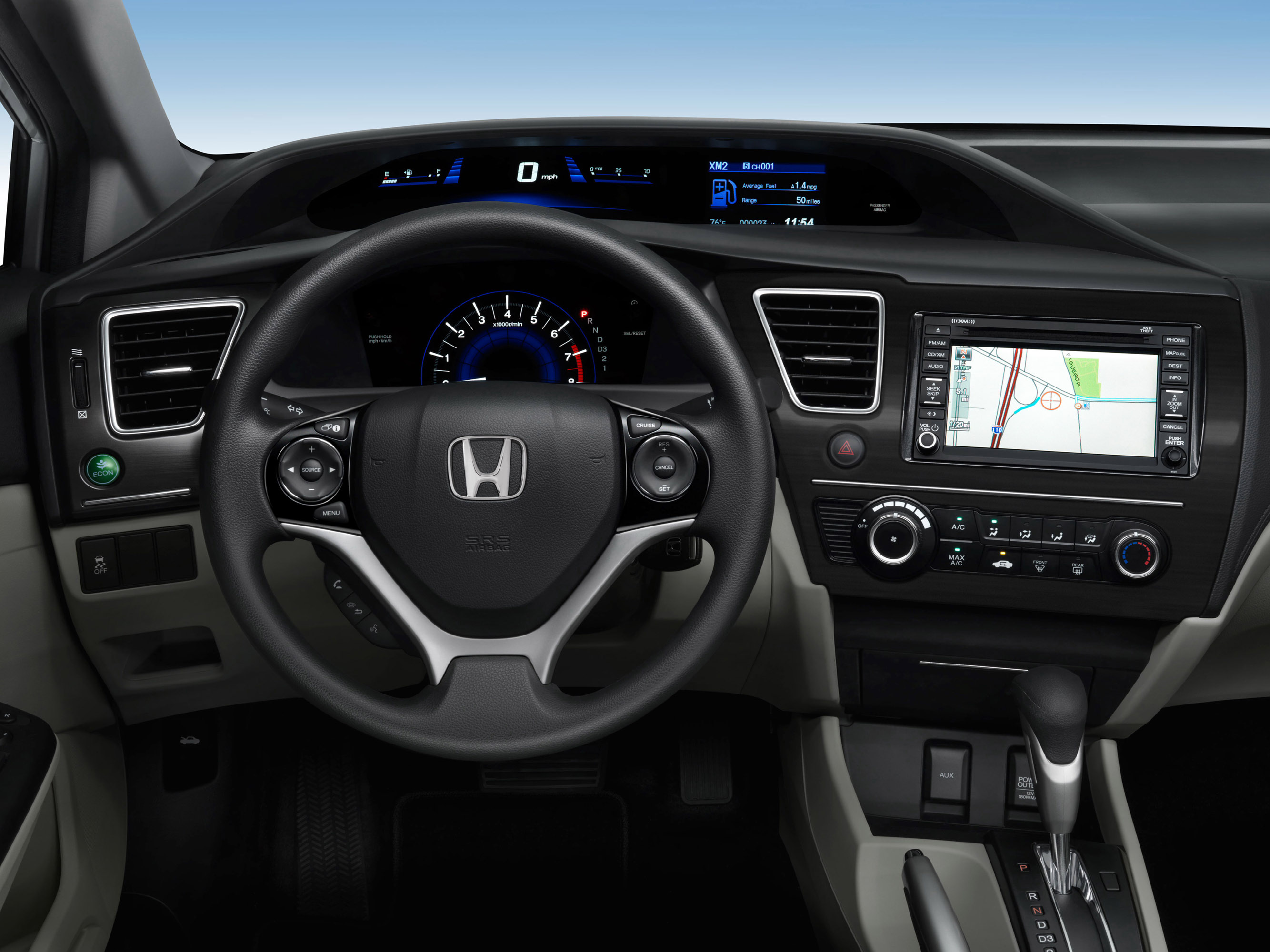 Honda Civic Natural Gas photo #5