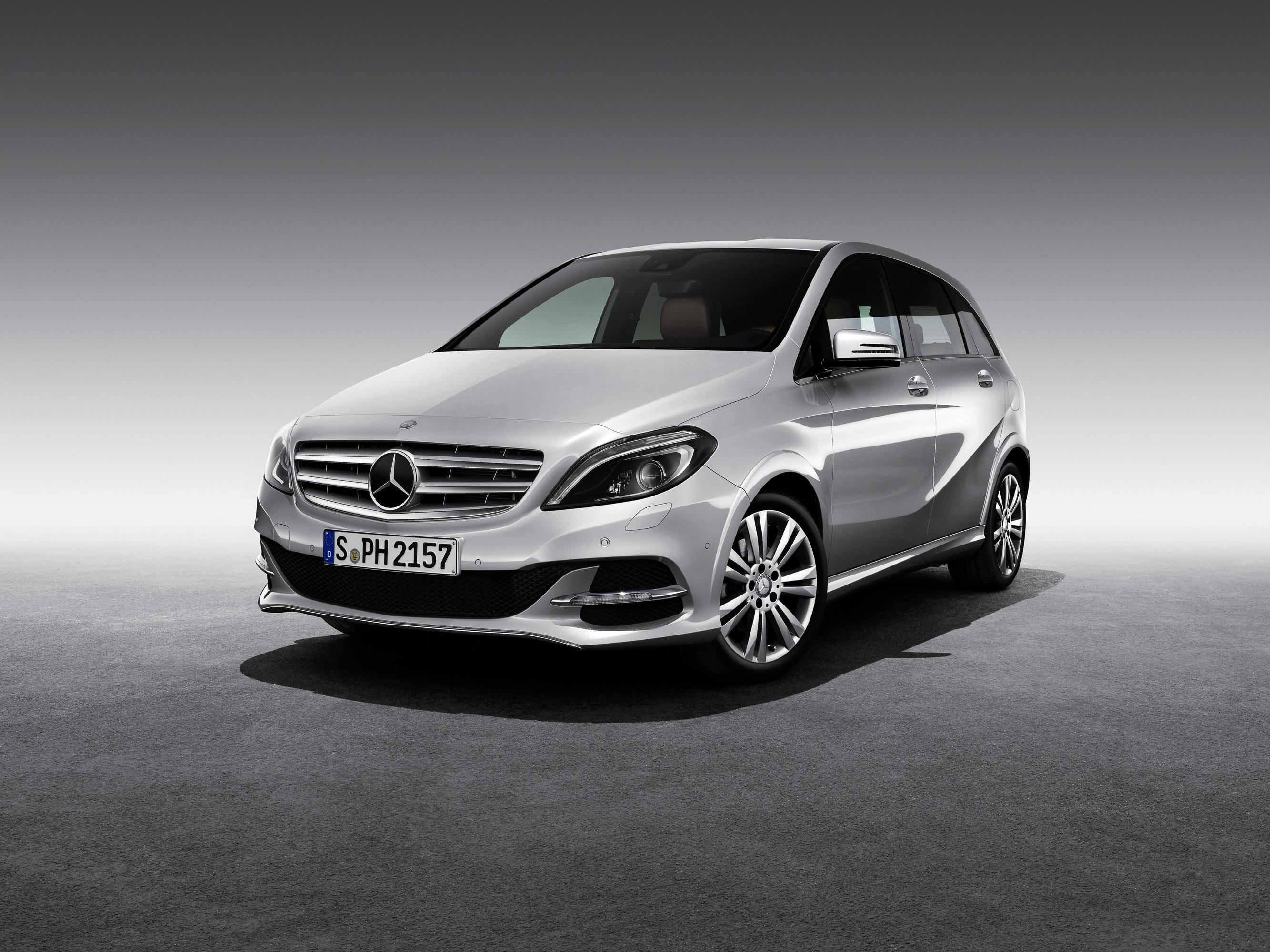 Mercedes-Benz B200 Natural Gas Drive photo #1