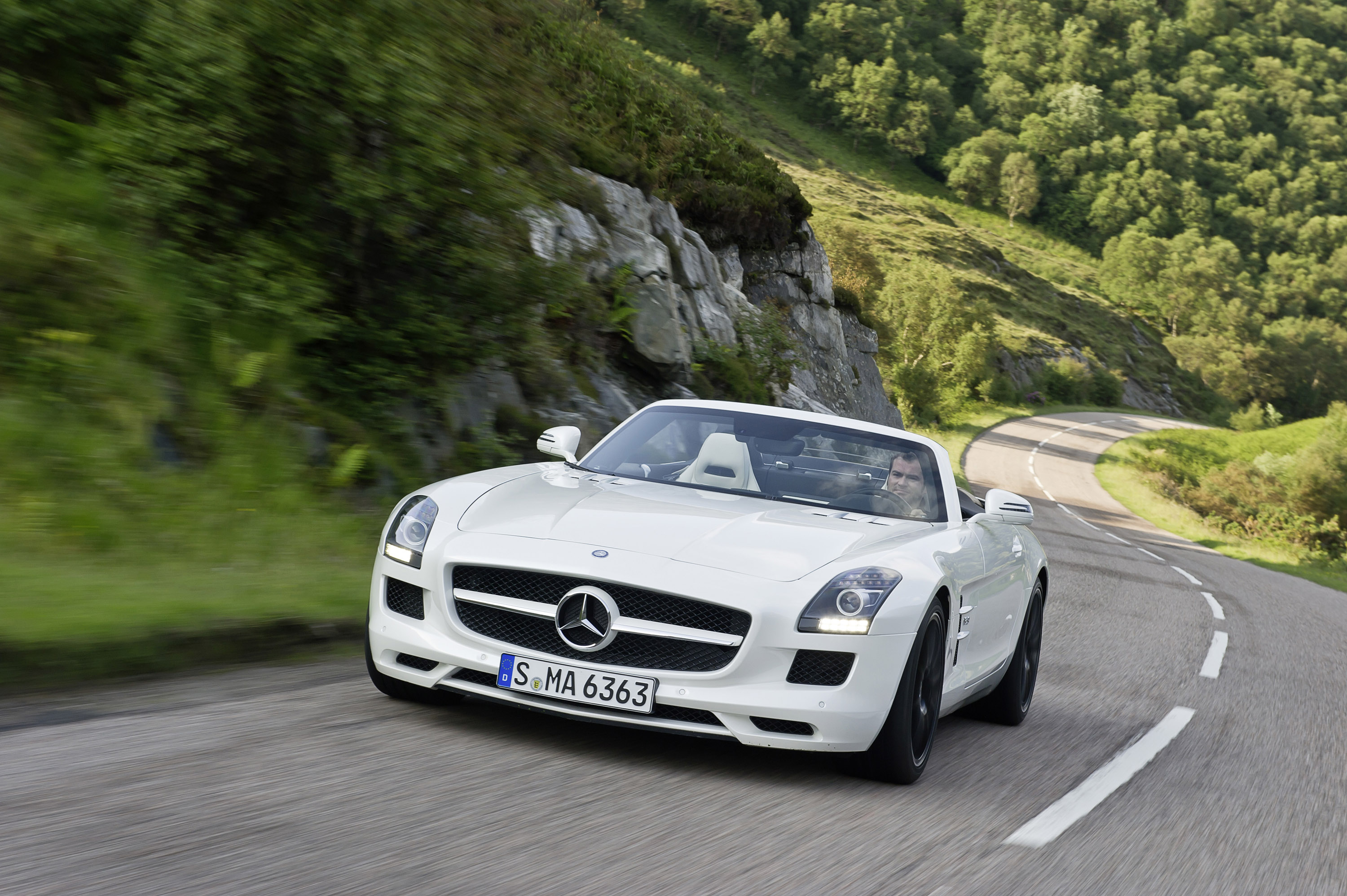Mercedes Benz Sls Amg Gt Roadster Picture 2 Of 76 My 2013 Size 3000x1996