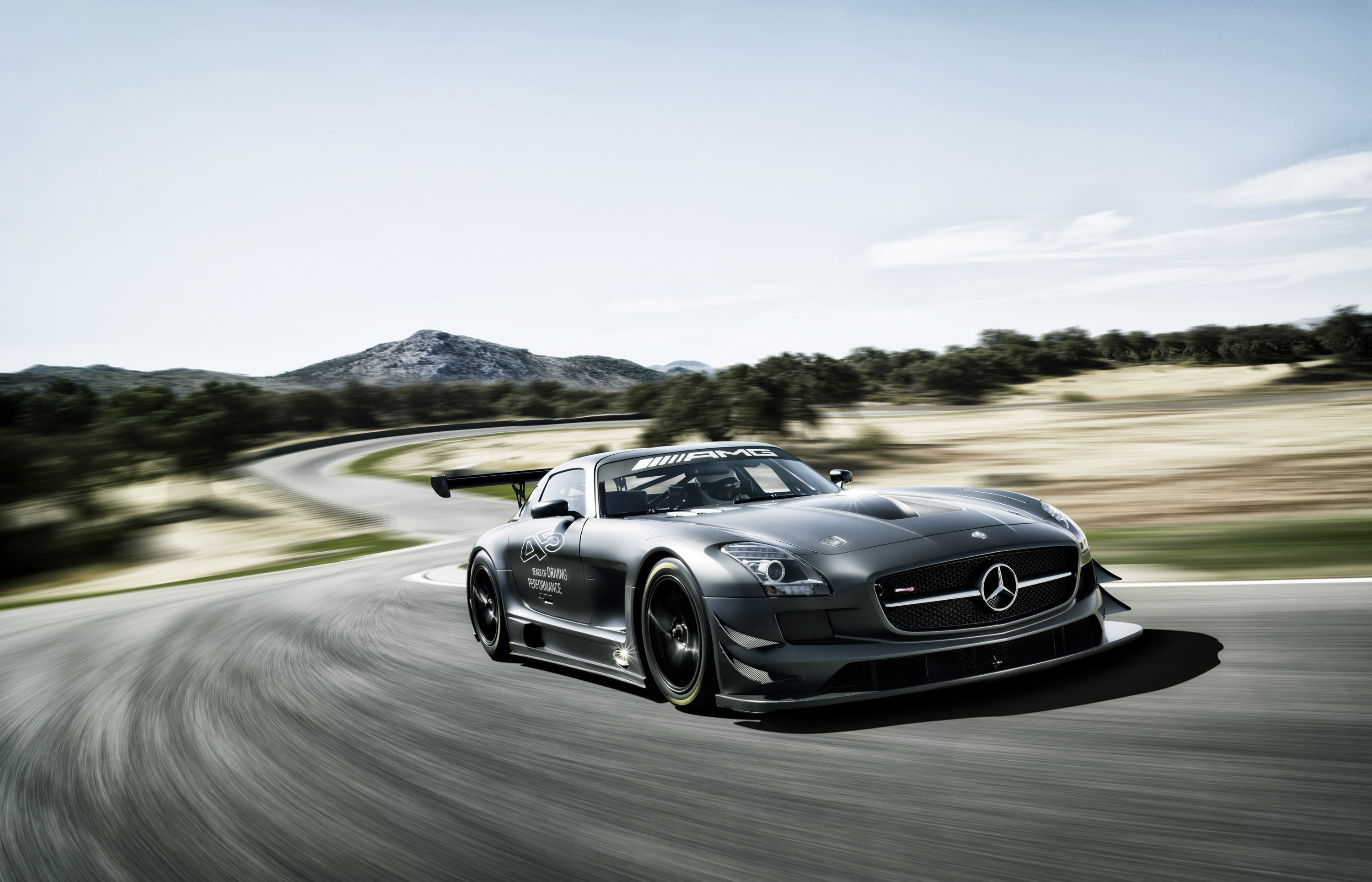 2013 mercedes benz sls amg gt3 45th anniversary hd. Black Bedroom Furniture Sets. Home Design Ideas