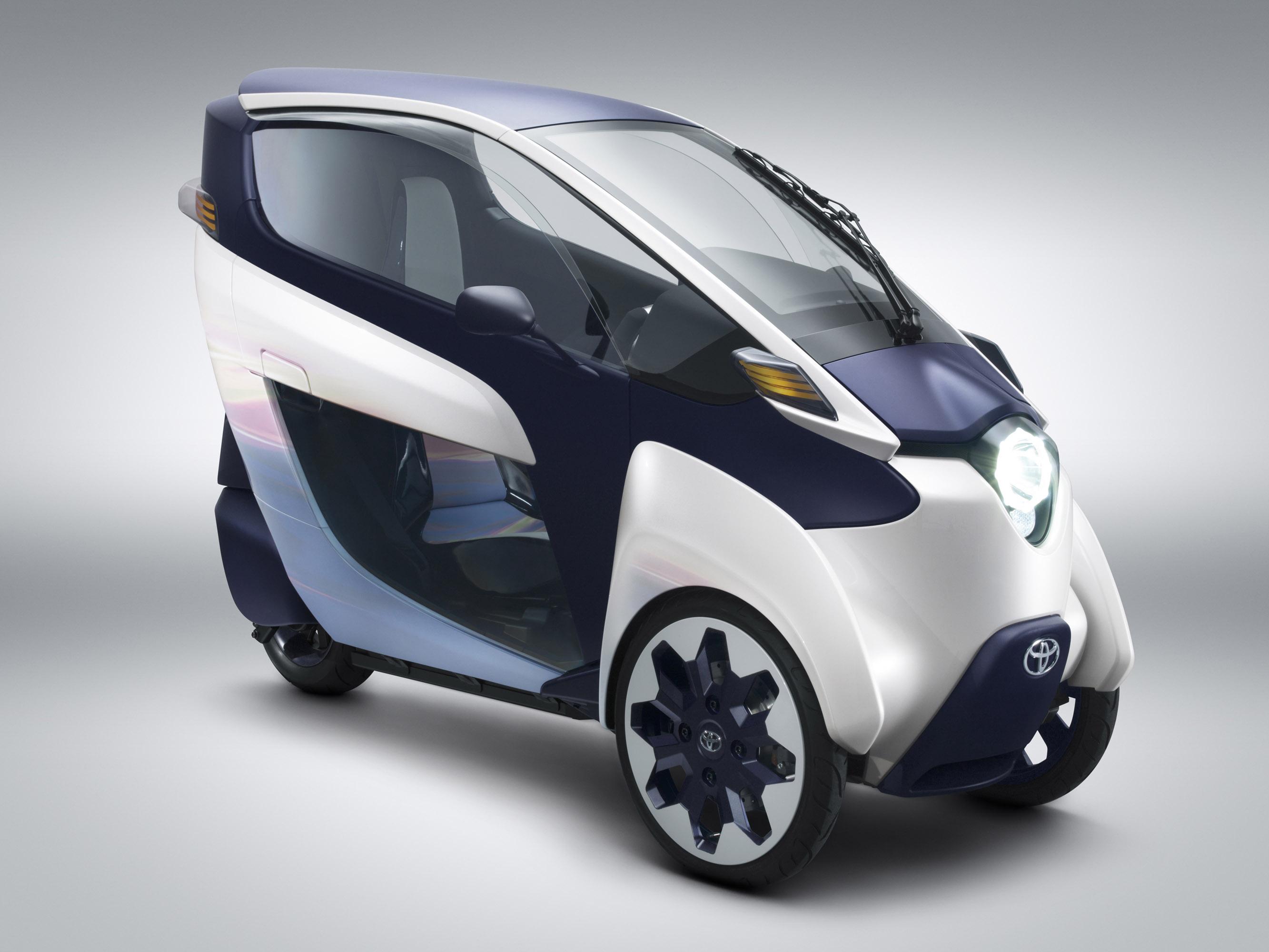 Toyota i-ROAD Concept photo #1
