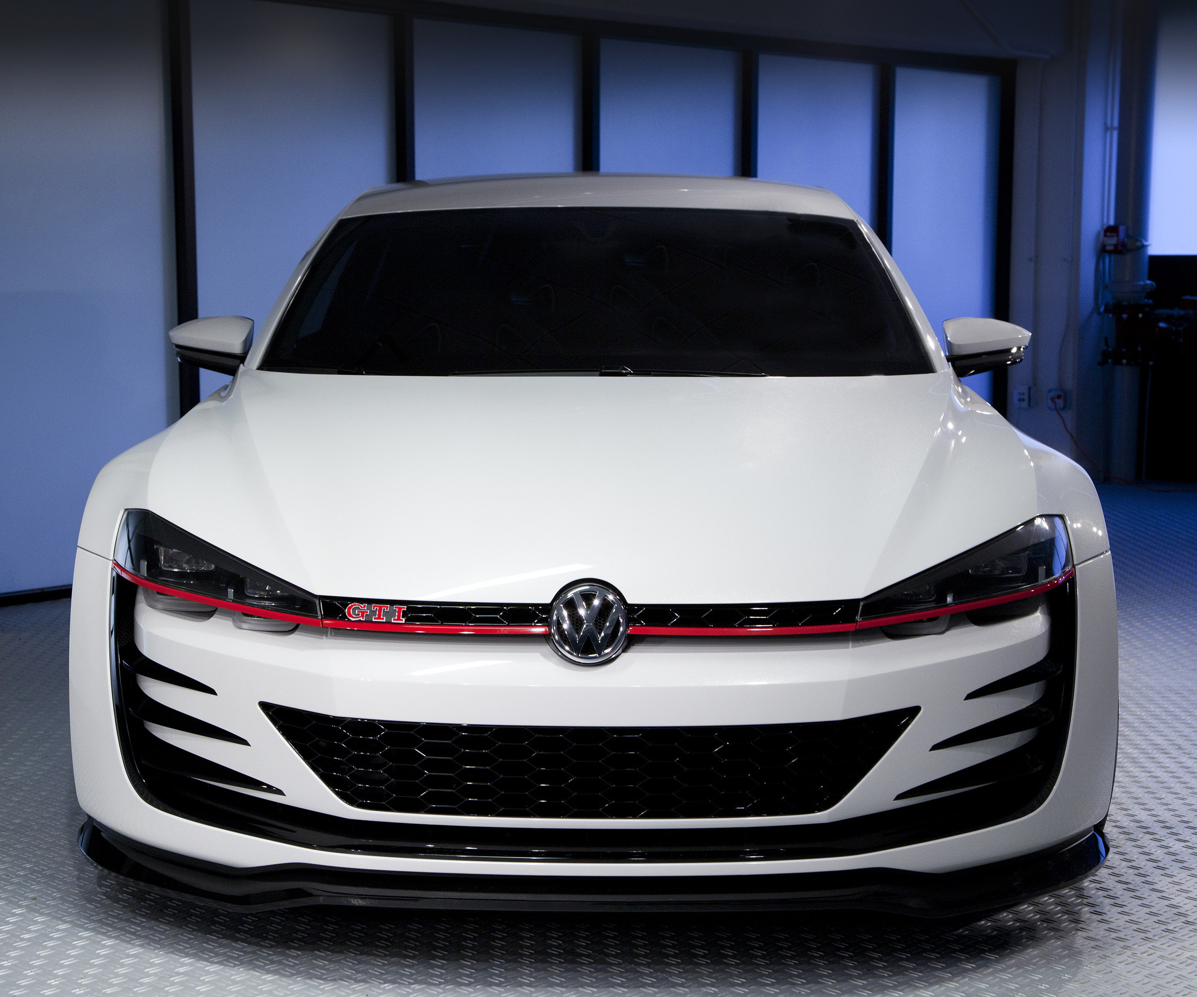 2013 Vw Golf Body Structure: 2013 Volkswagen Golf Design Vision GTI