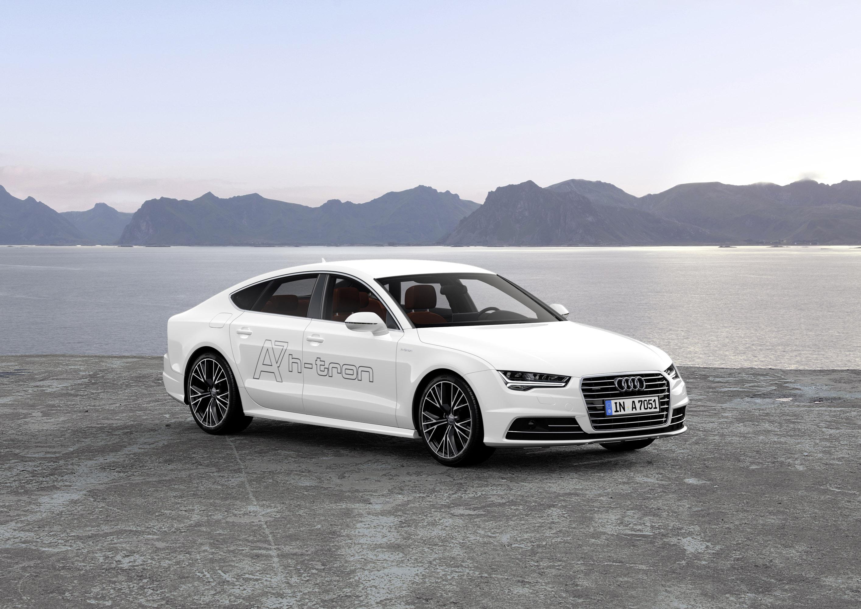 Audi A7 Sportback h-tron Quattro Concept photo #1