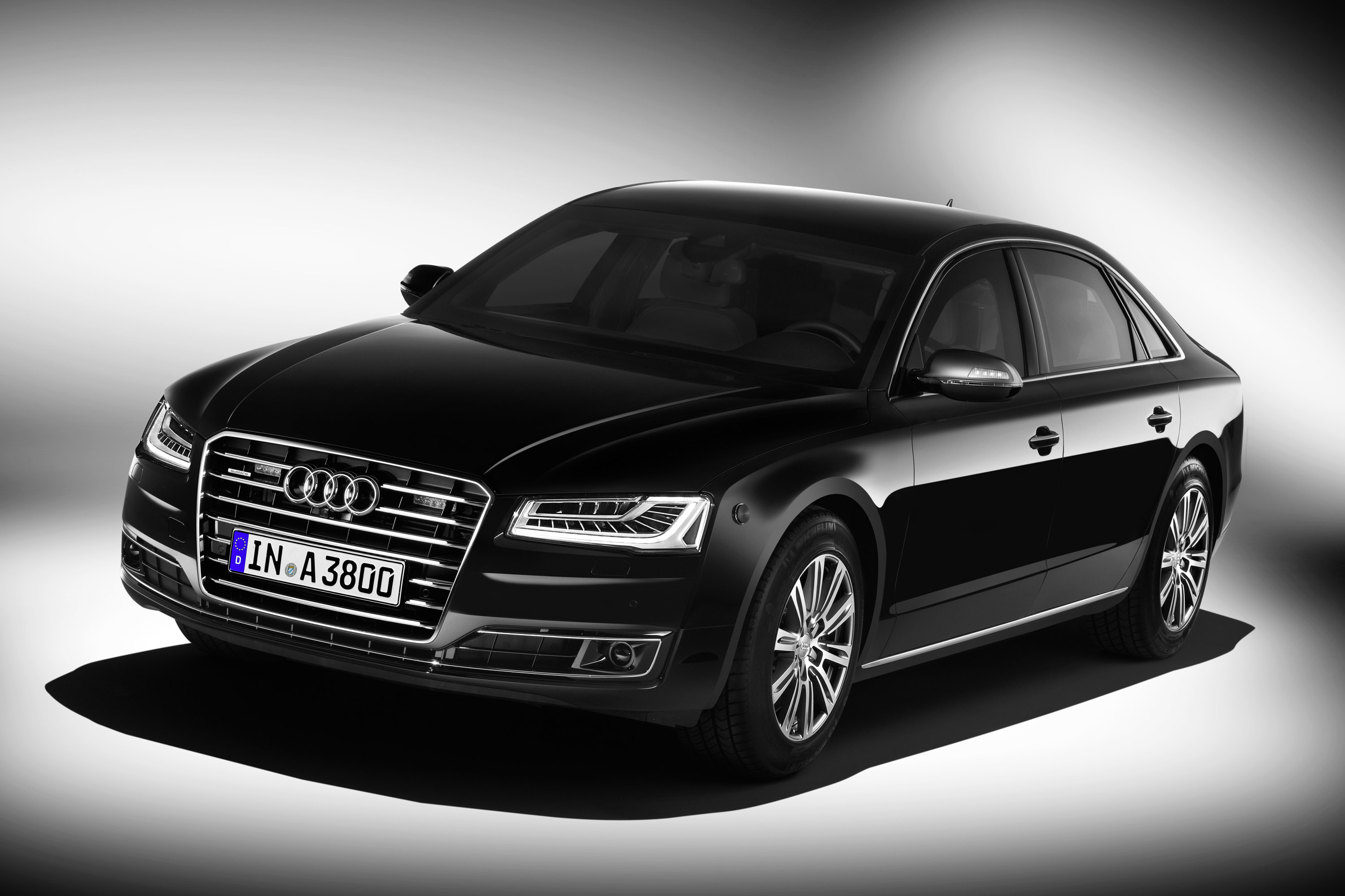 Audi A8 L Security photo #1