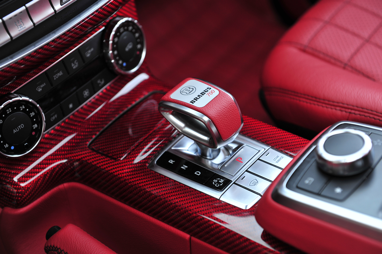 2014 brabus b63s 700 6x6 mercedes benz g class thumbnail photo 15494 - G Wagon Red Interior