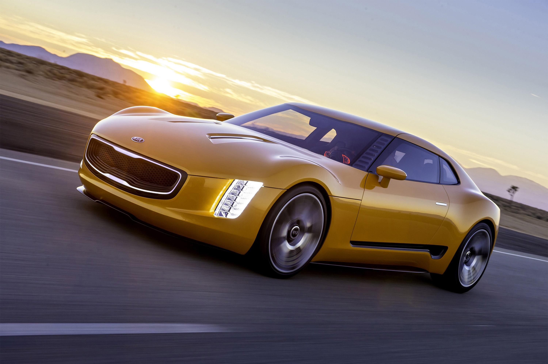 Kia GT4 Stinger Concept photo #2
