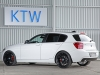 KTW Tuning BMW 1-series Black and White 2014