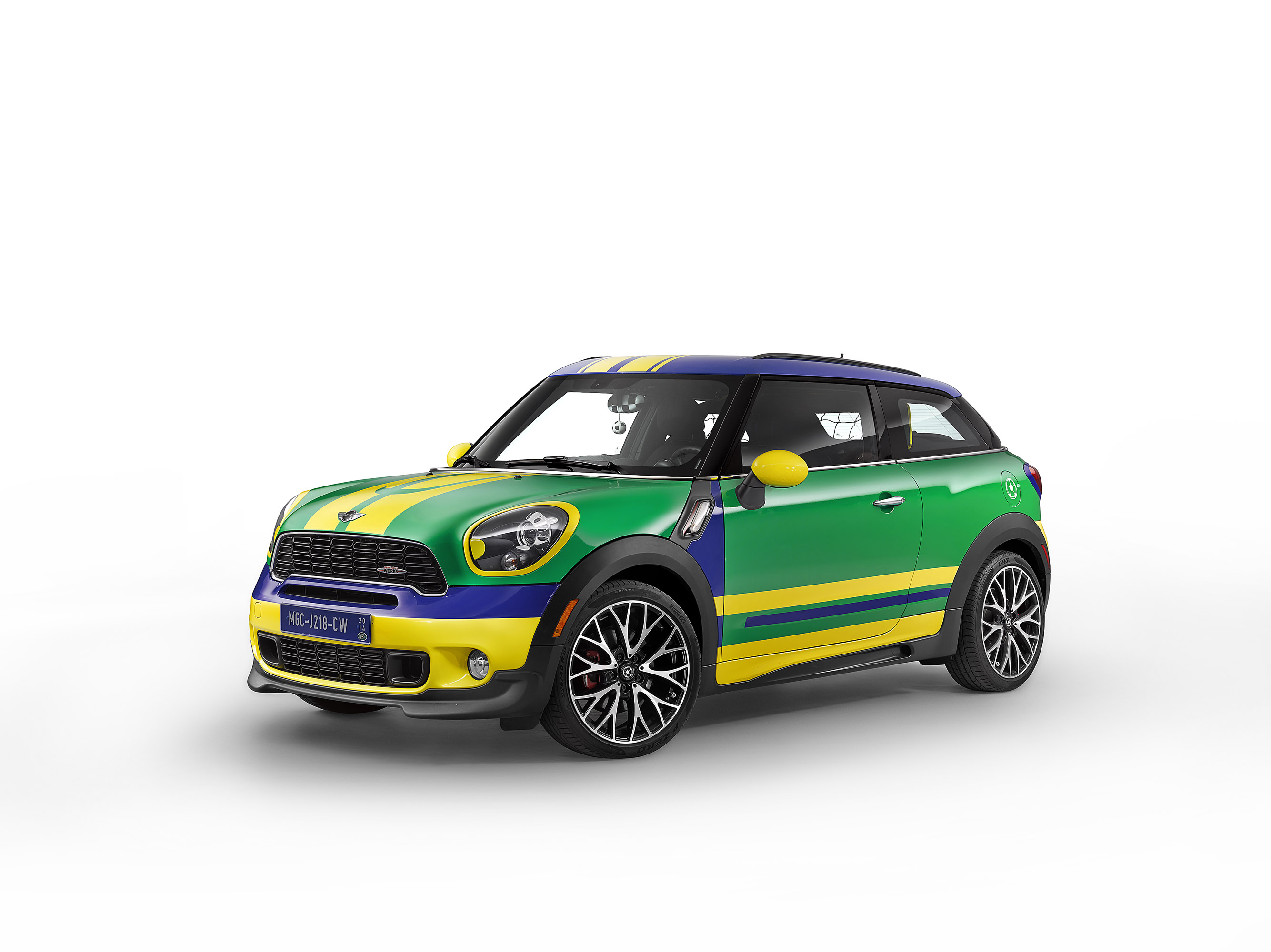 MINI Paceman GoalCooper photo #1
