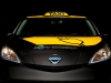 Nissan Electric Taxi 2014