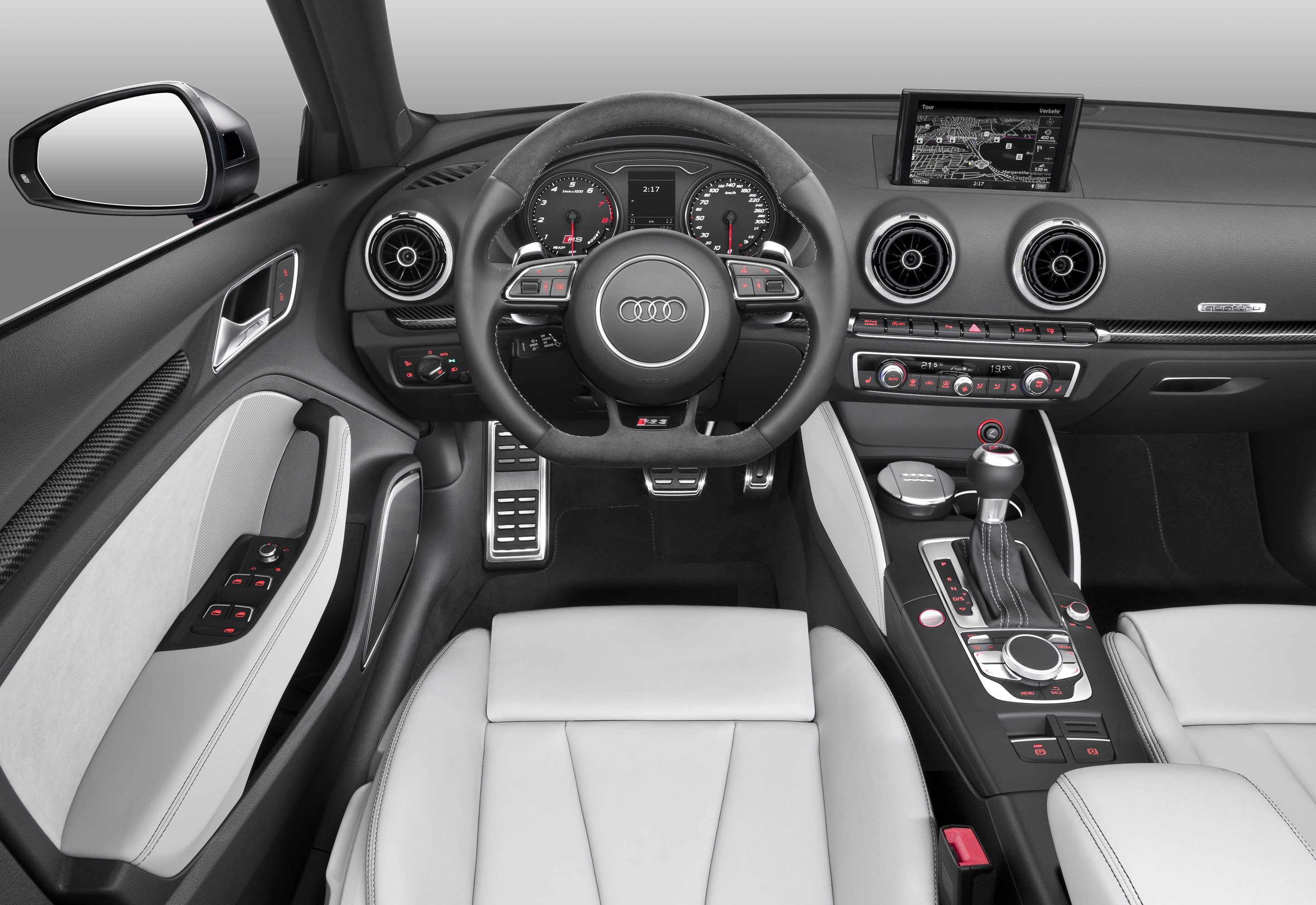 Audi RS3 Sportback (Тест-Драйв) Технические характеристики