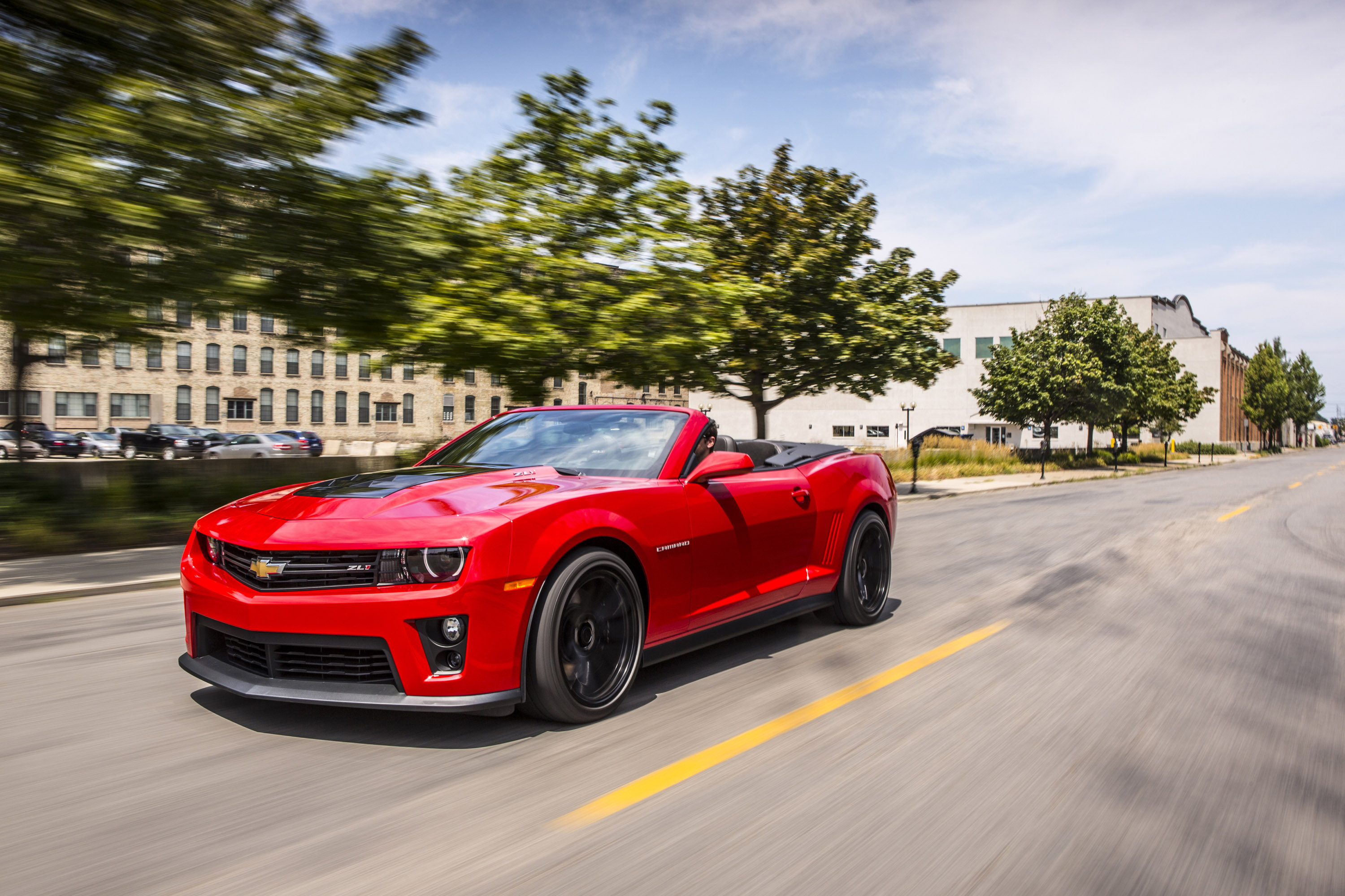 Chevrolet Camaro ZL1 Convertible photo #1